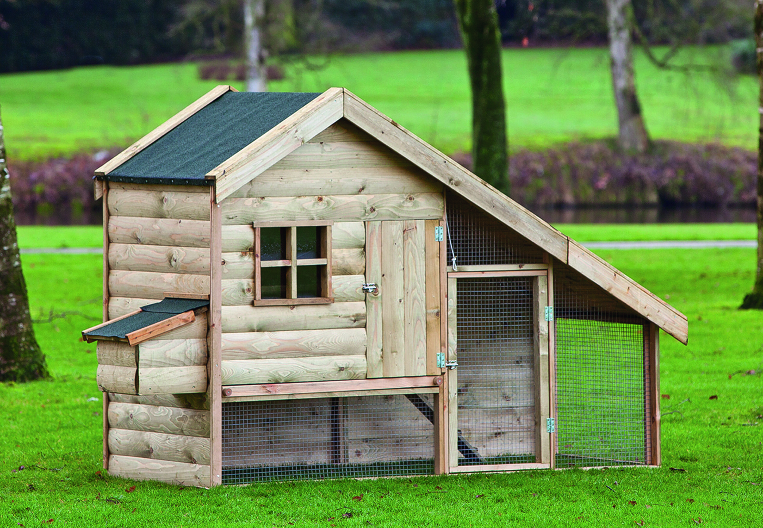 Ancona – Chicken Coop, With Drawer