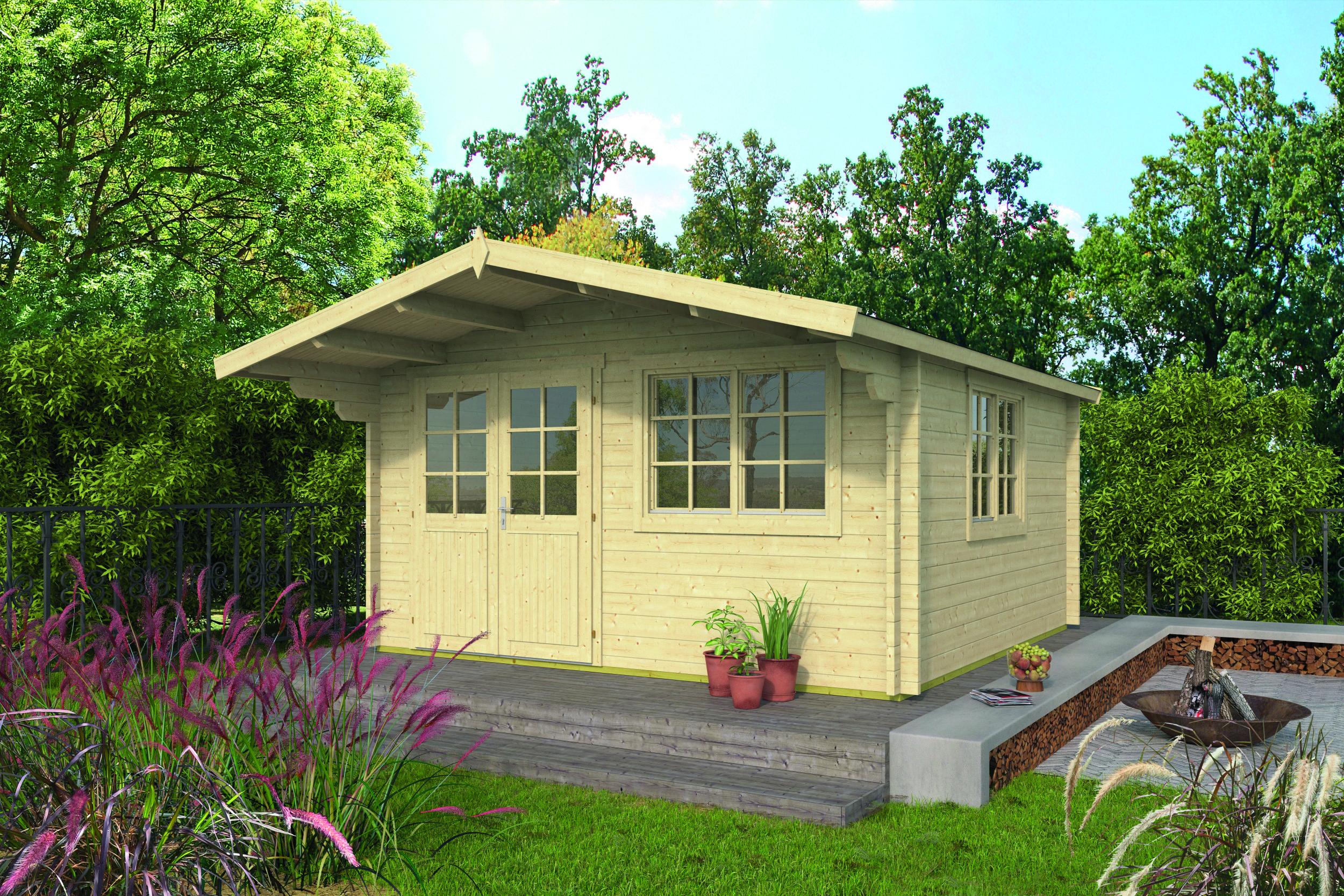 Inge – Log Cabin /Garden Shed