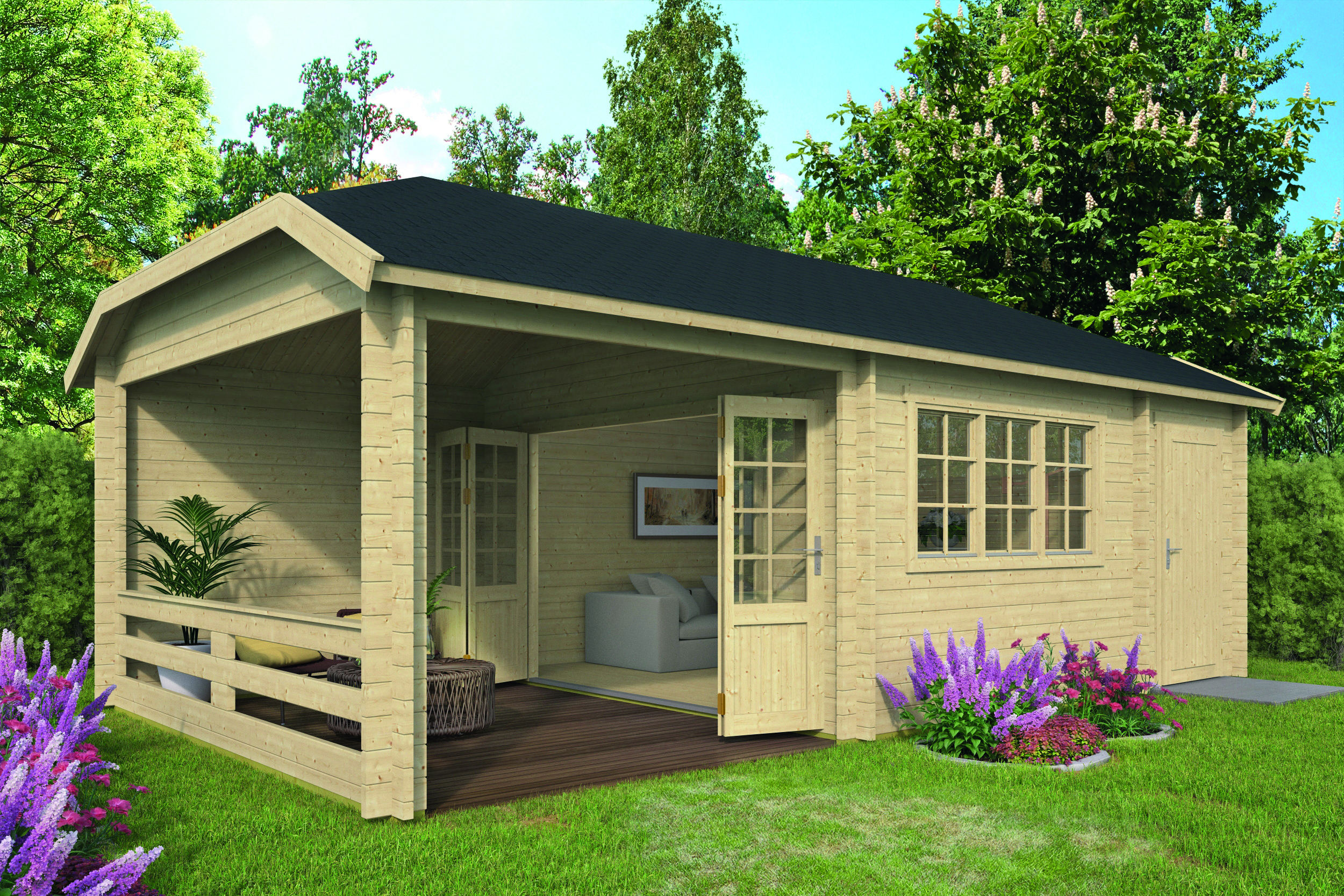 Viveka – Log Cabin /Garden Shed