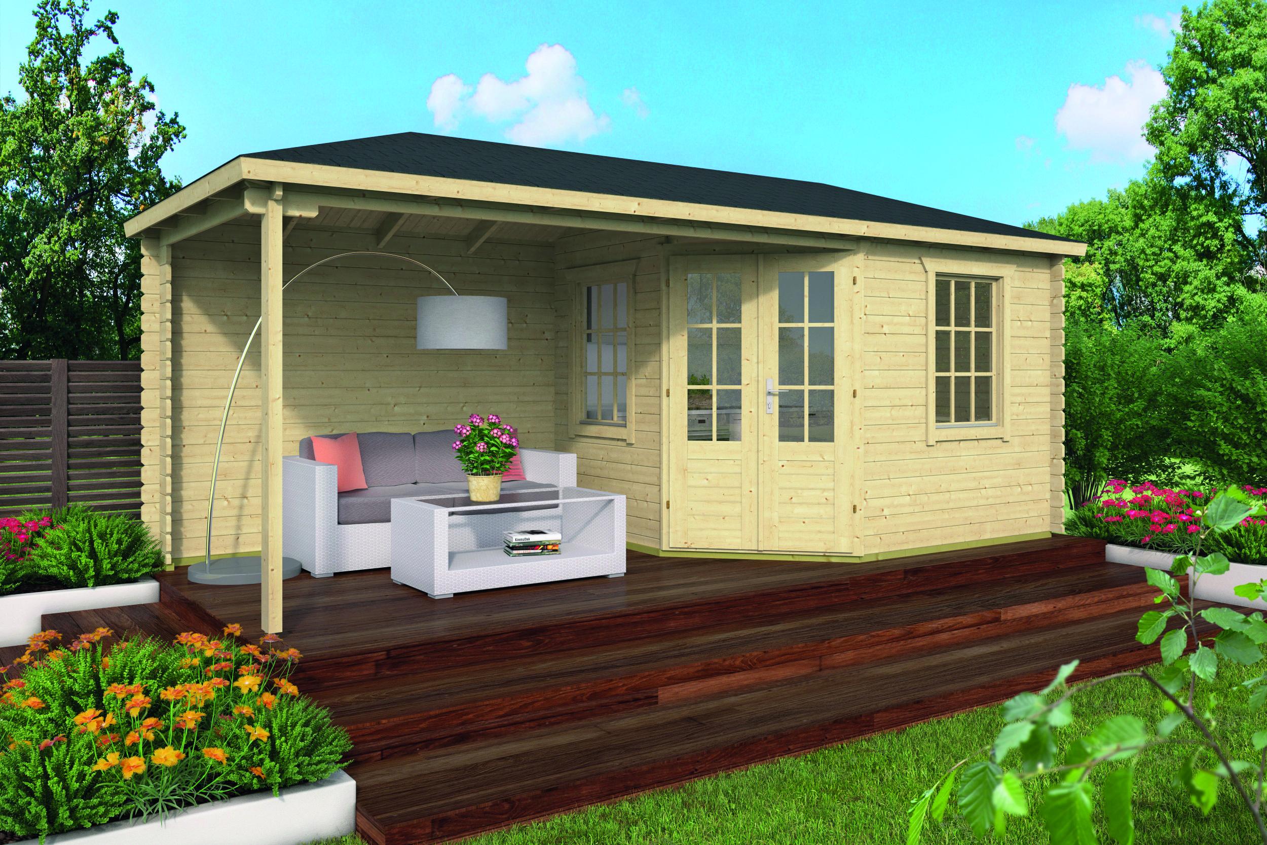 Niklas – Log Cabin /Garden Shed