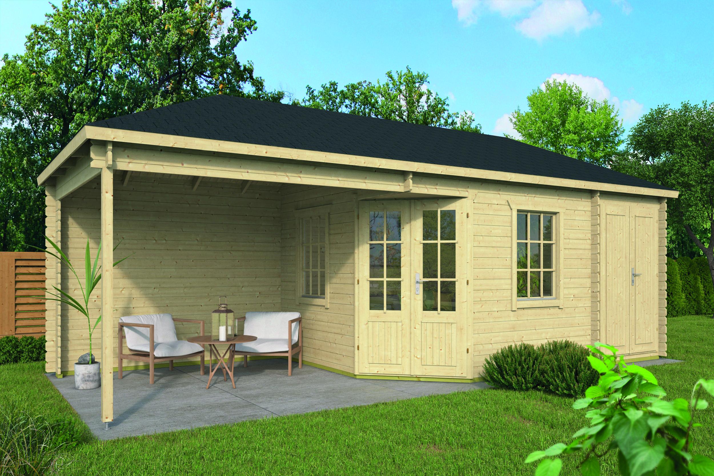 Olson – Log Cabin /Garden Shed