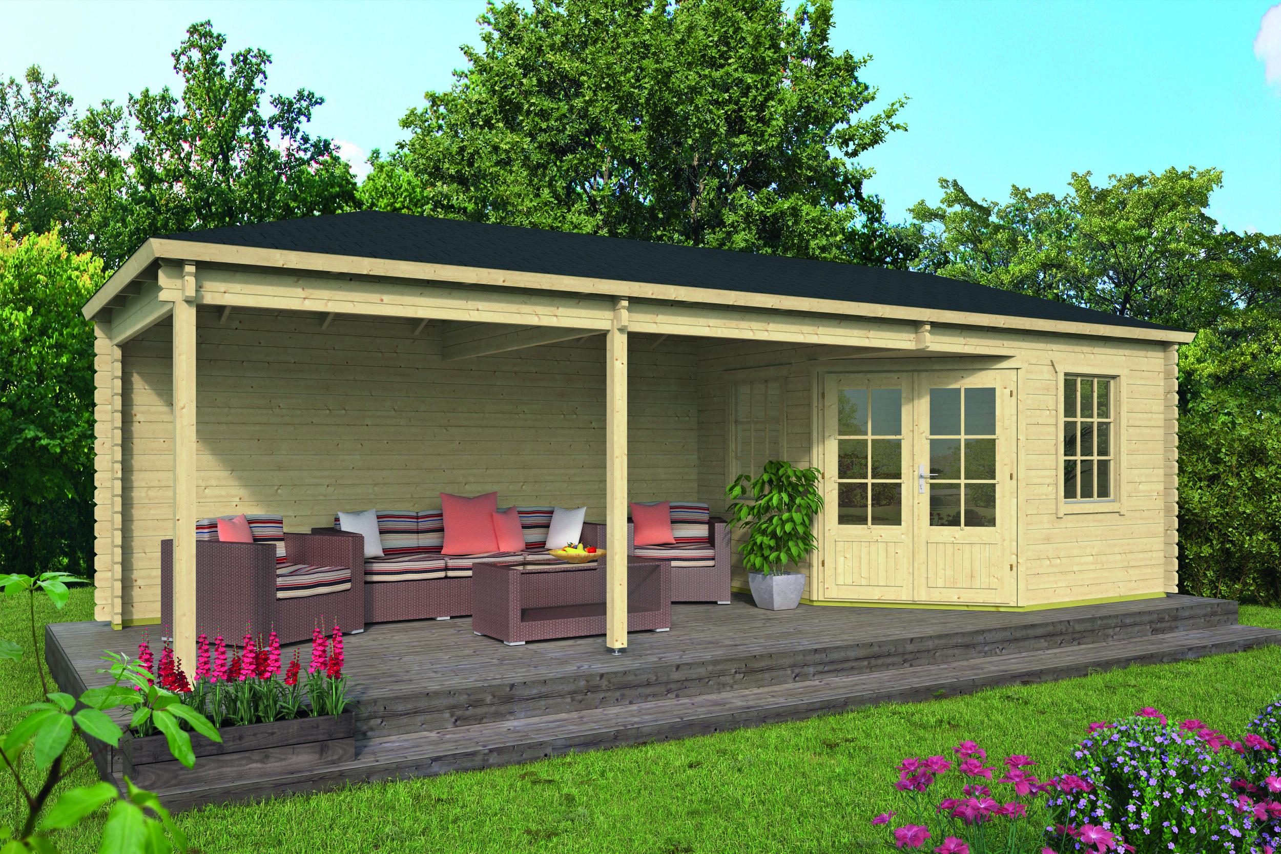 Bertil – Log Cabin /Garden Shed