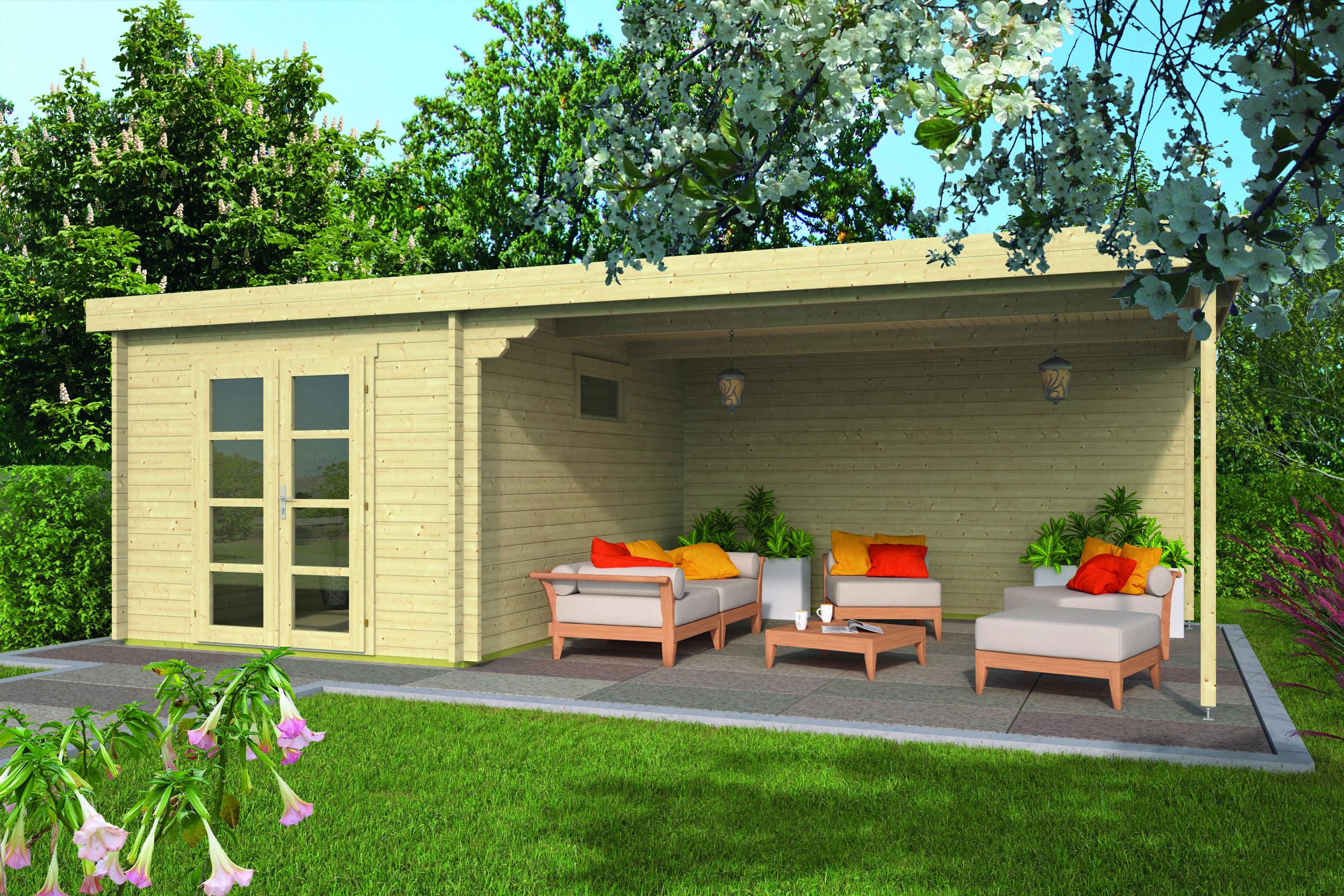 Gunnar – Log Cabin /Garden Shed