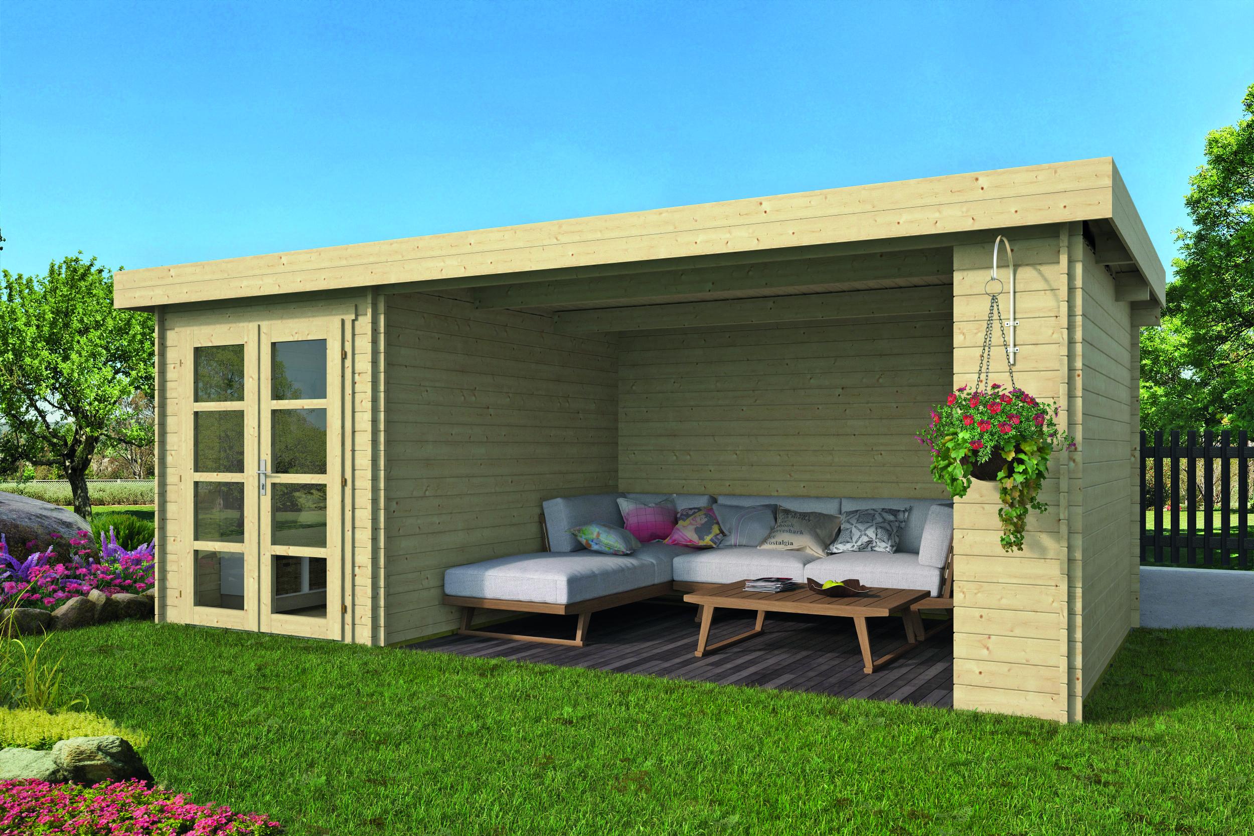 Megamodern – Log Cabin /Garden Shed