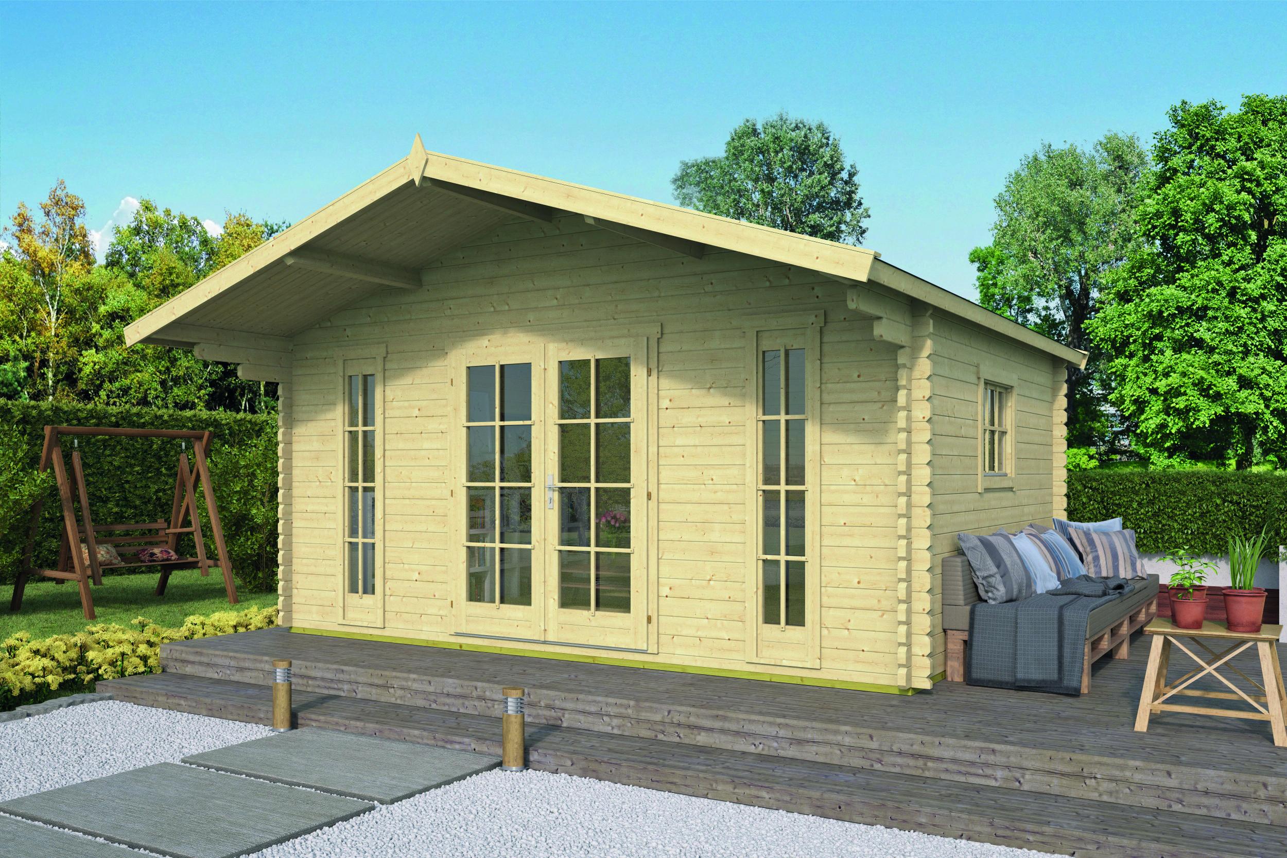 Gustav – Log Cabin /Garden Shed