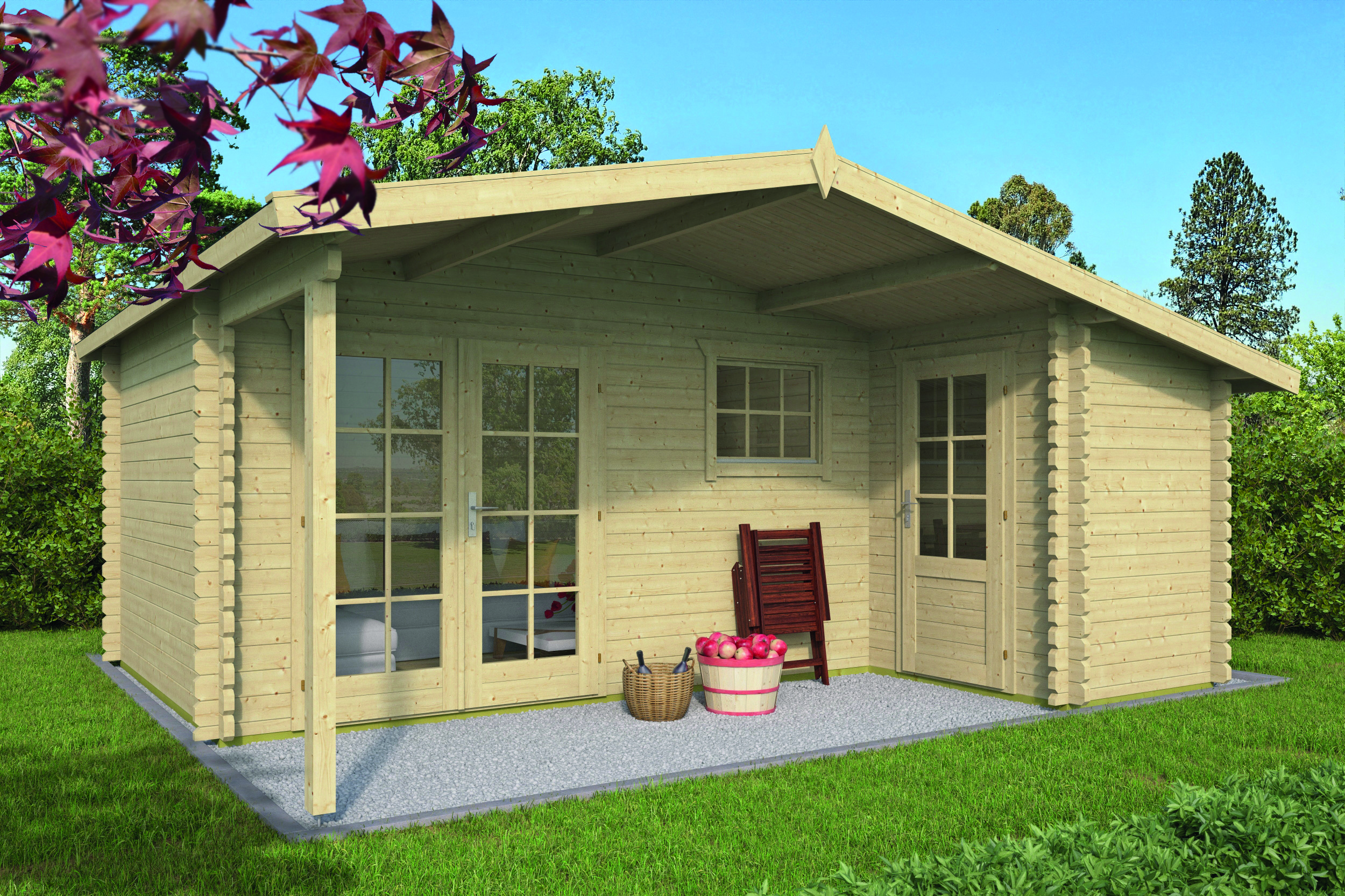 Wolfgang – Log Cabin /Garden Shed
