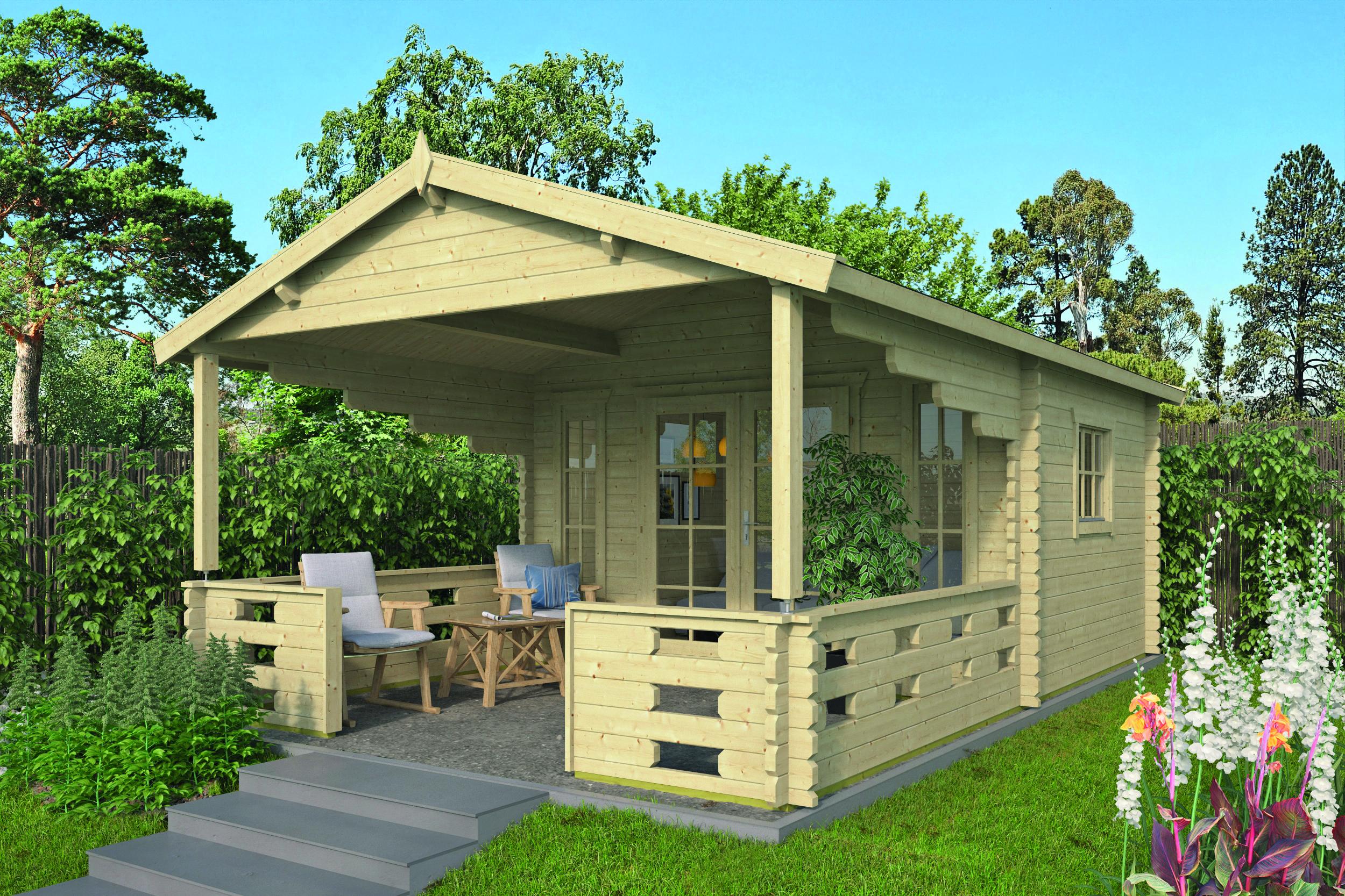 Sanstrov – Log Cabin /Garden Shed