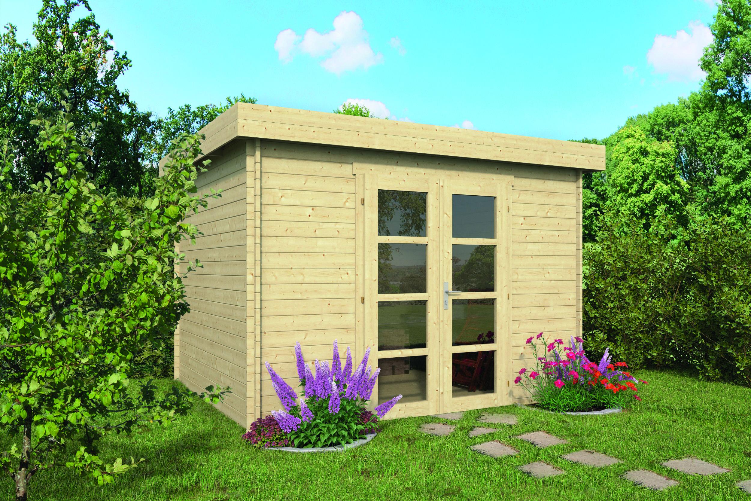 Hypermodern – Log Cabin /Garden Shed