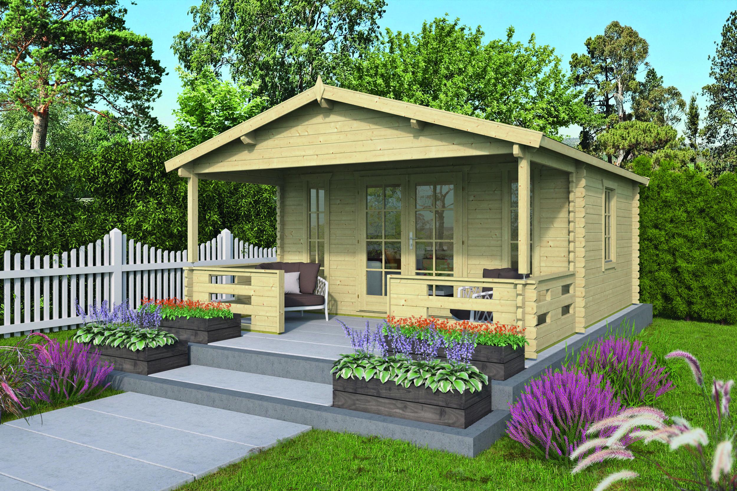 Heino – Log Cabin /Garden Shed