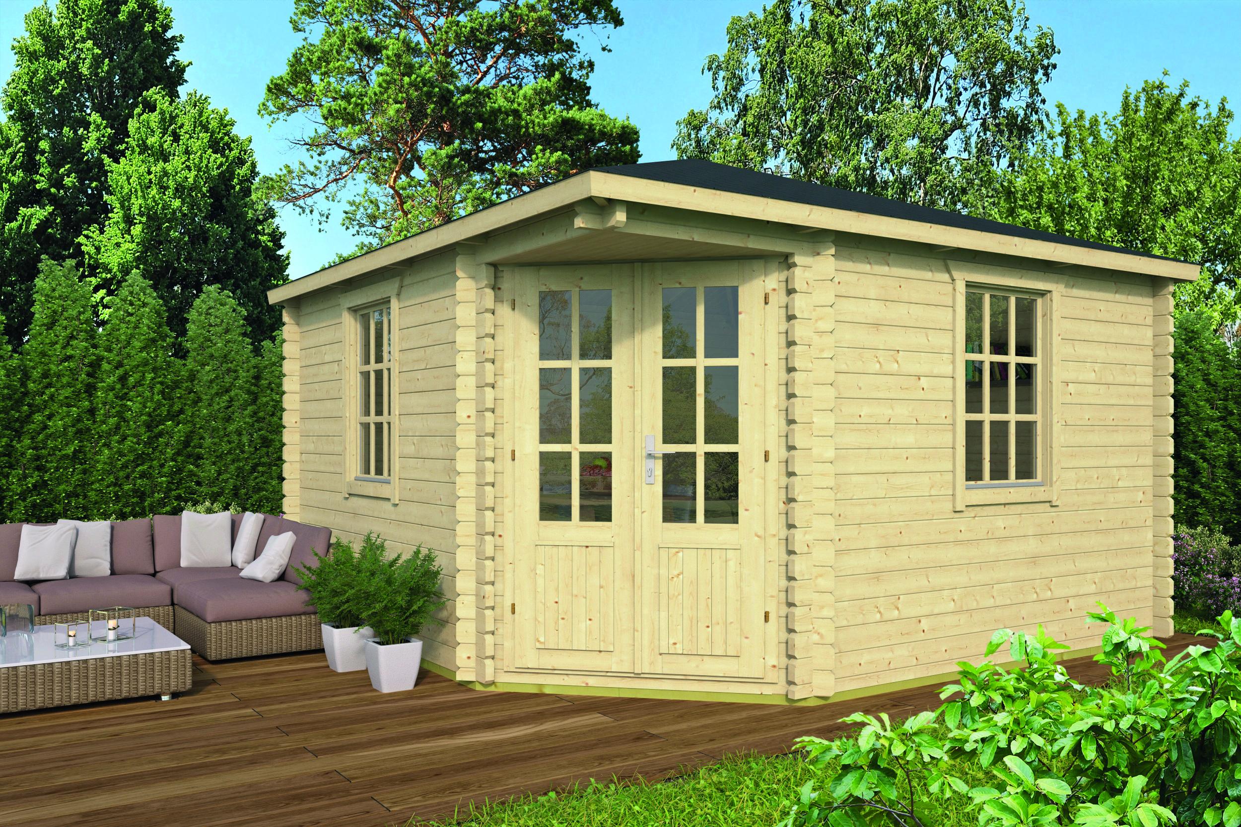 Lotte – Log Cabin /Garden Shed
