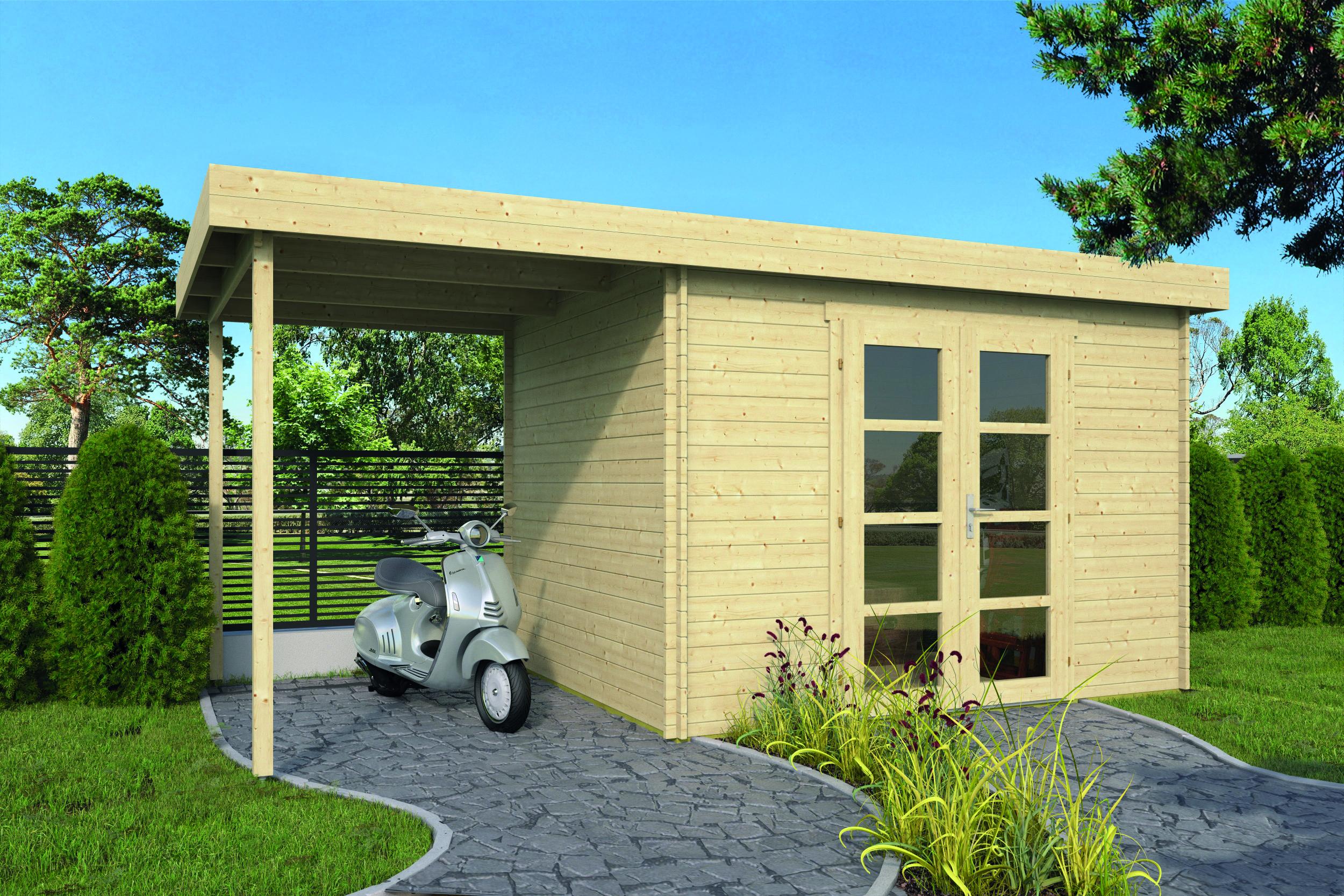 Extramodern – Log Cabin /Garden Shed