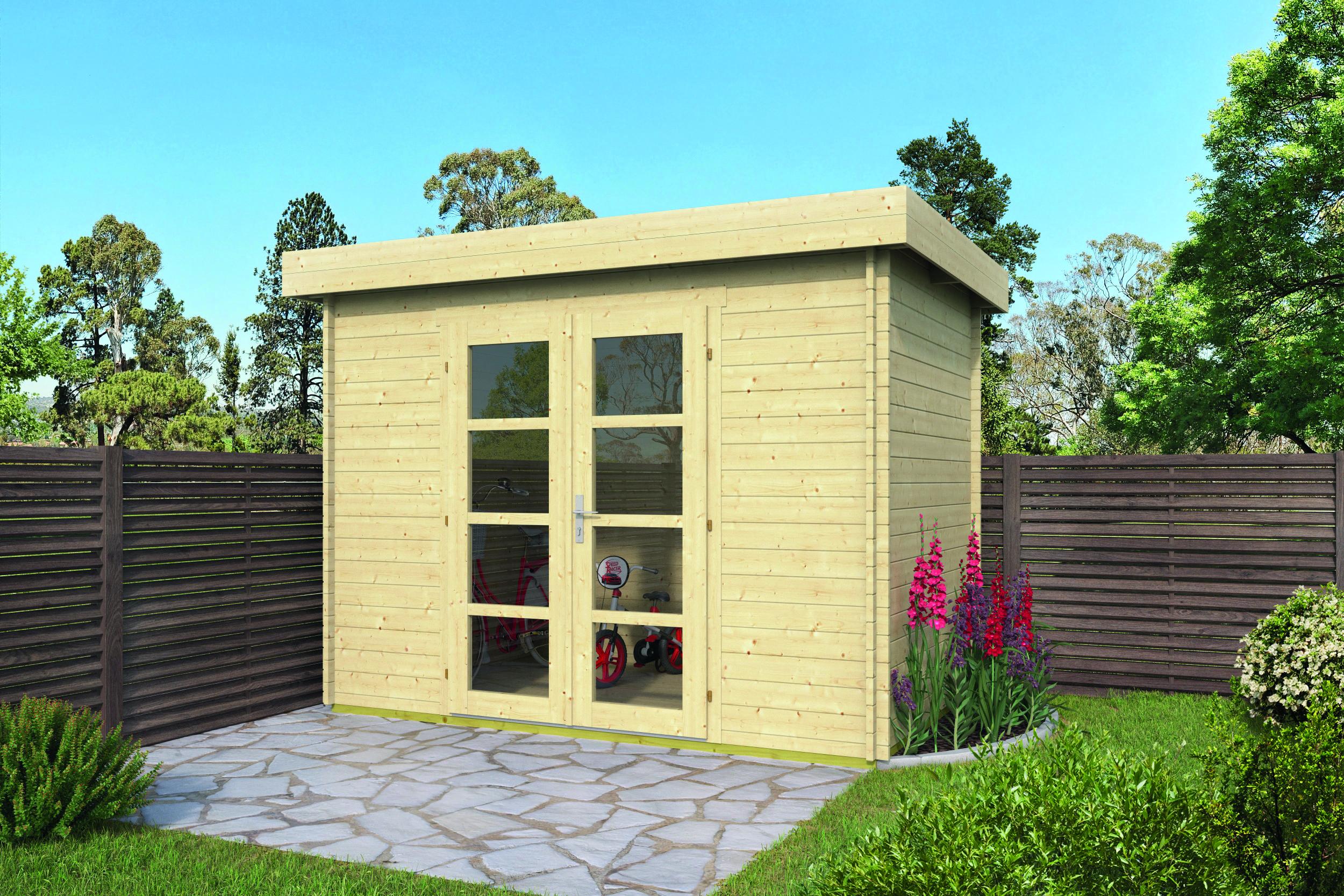Minimodern – Log Cabin /Garden Shed
