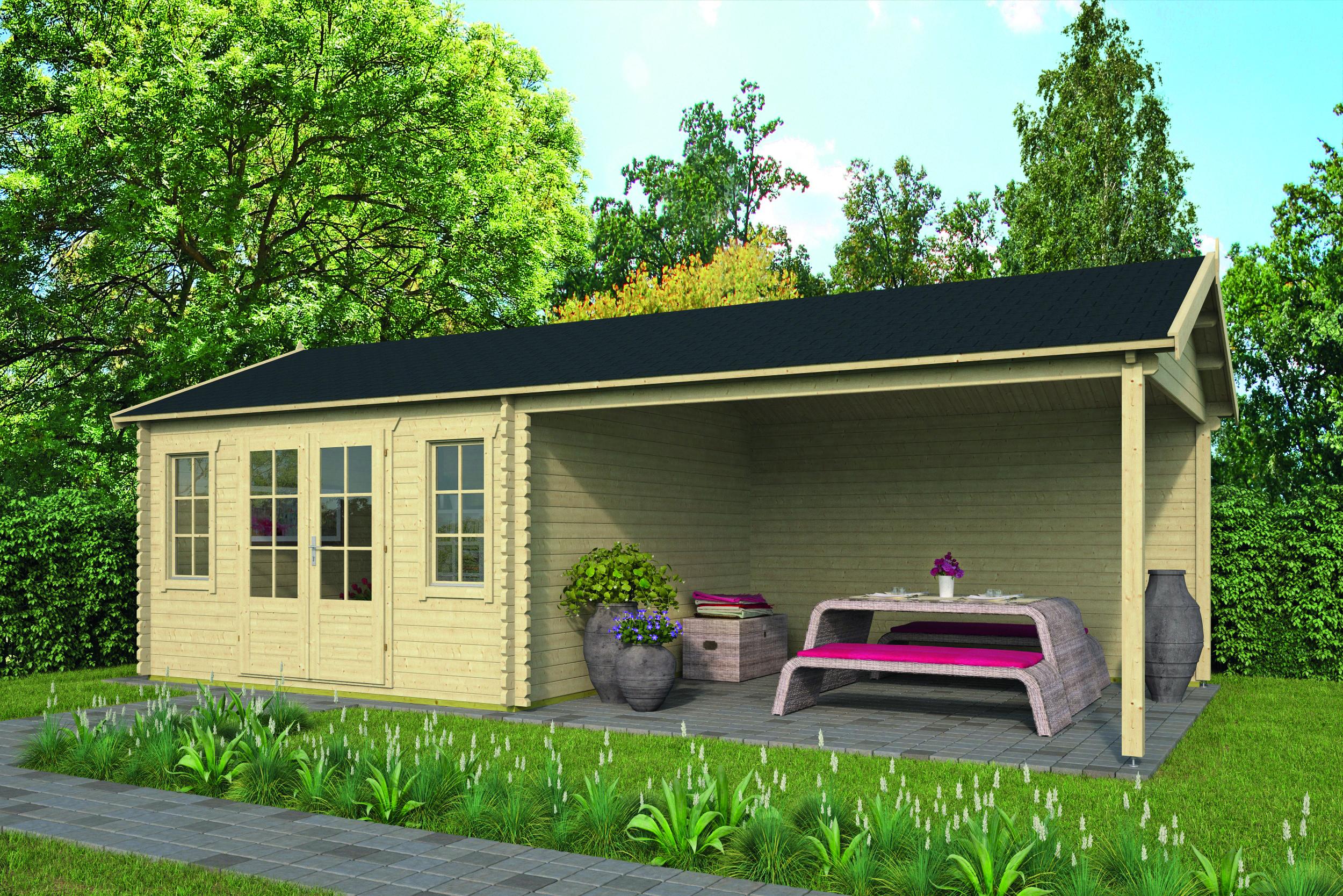 Kwaspa – Log Cabin /Garden Shed