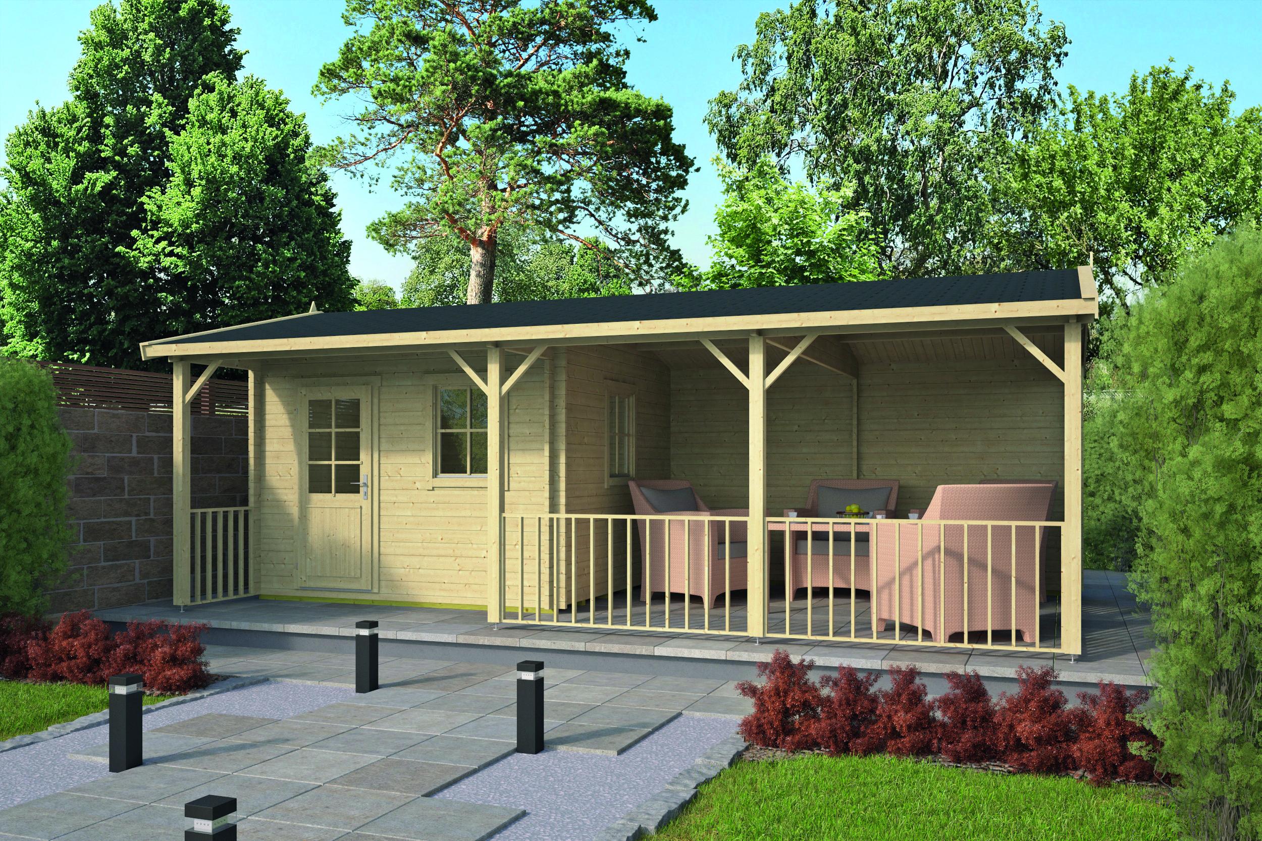 Ragna – Log Cabin /Garden Shed
