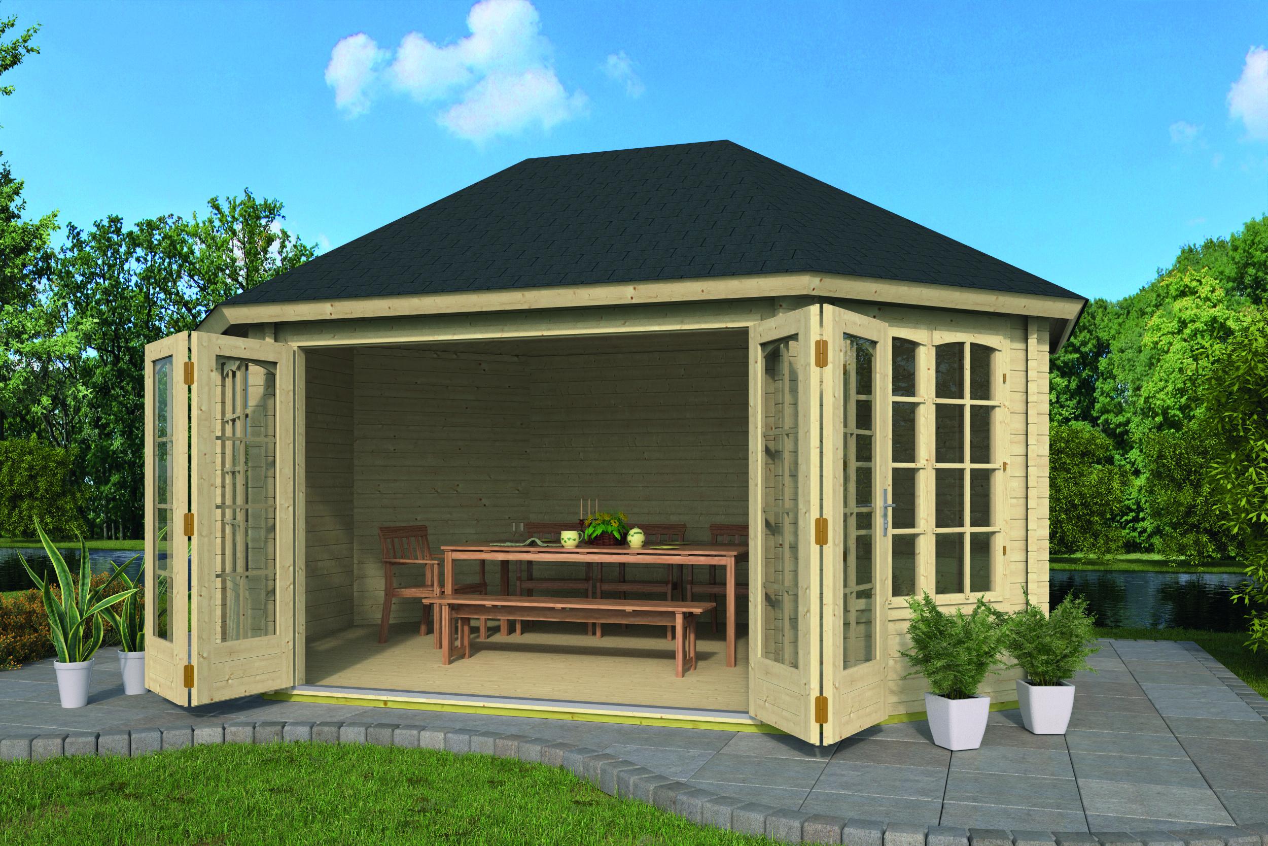 Gudrun – Log Cabin /Garden Shed