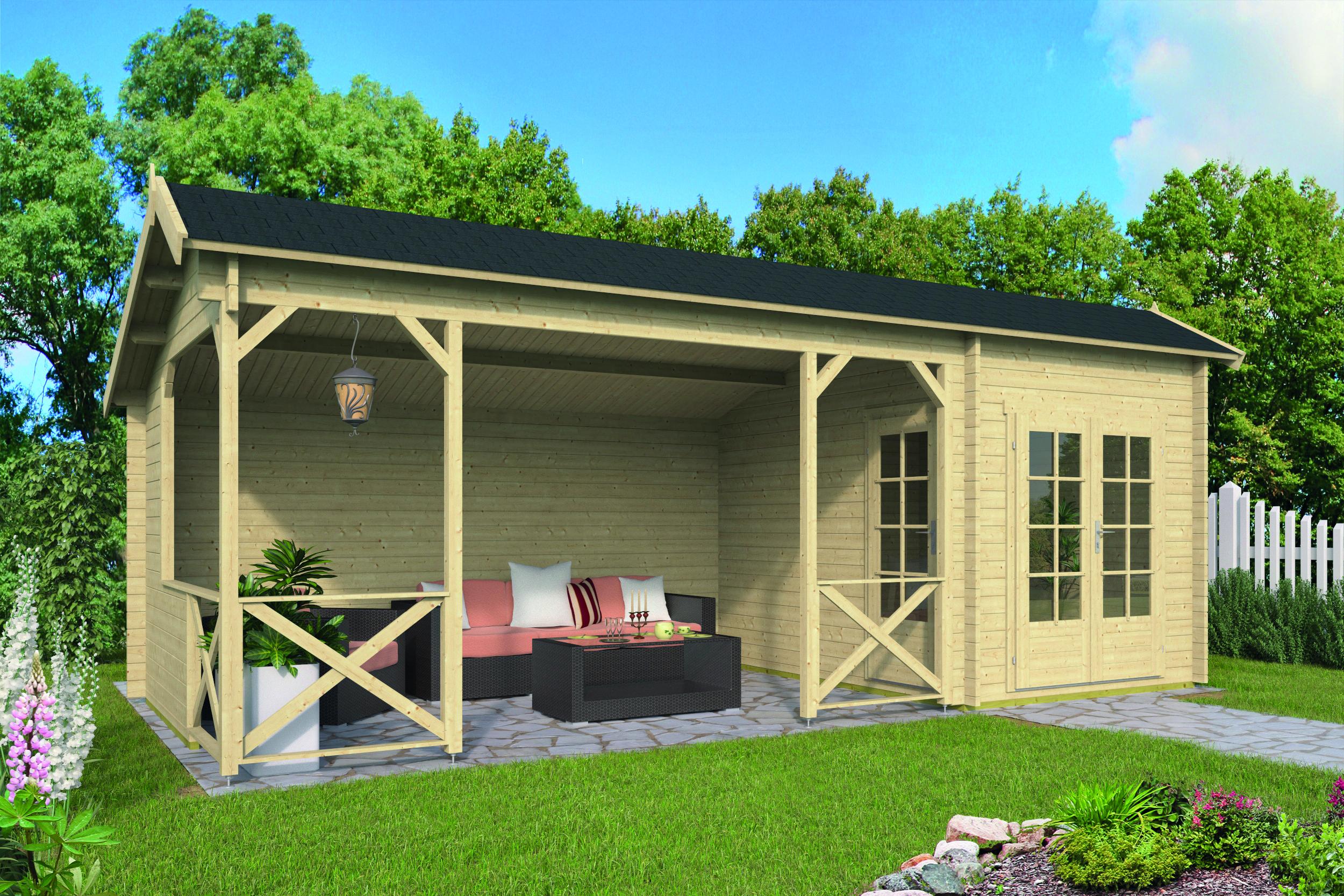 Kukka – Log Cabin /Garden Shed