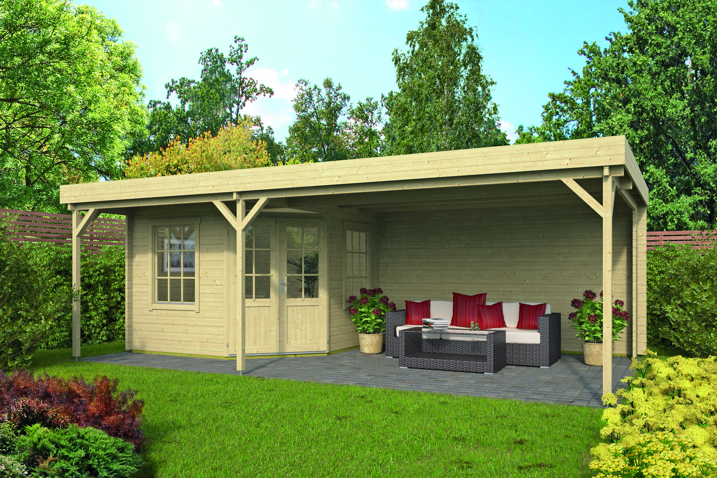 Annette – Log Cabin /Garden Shed