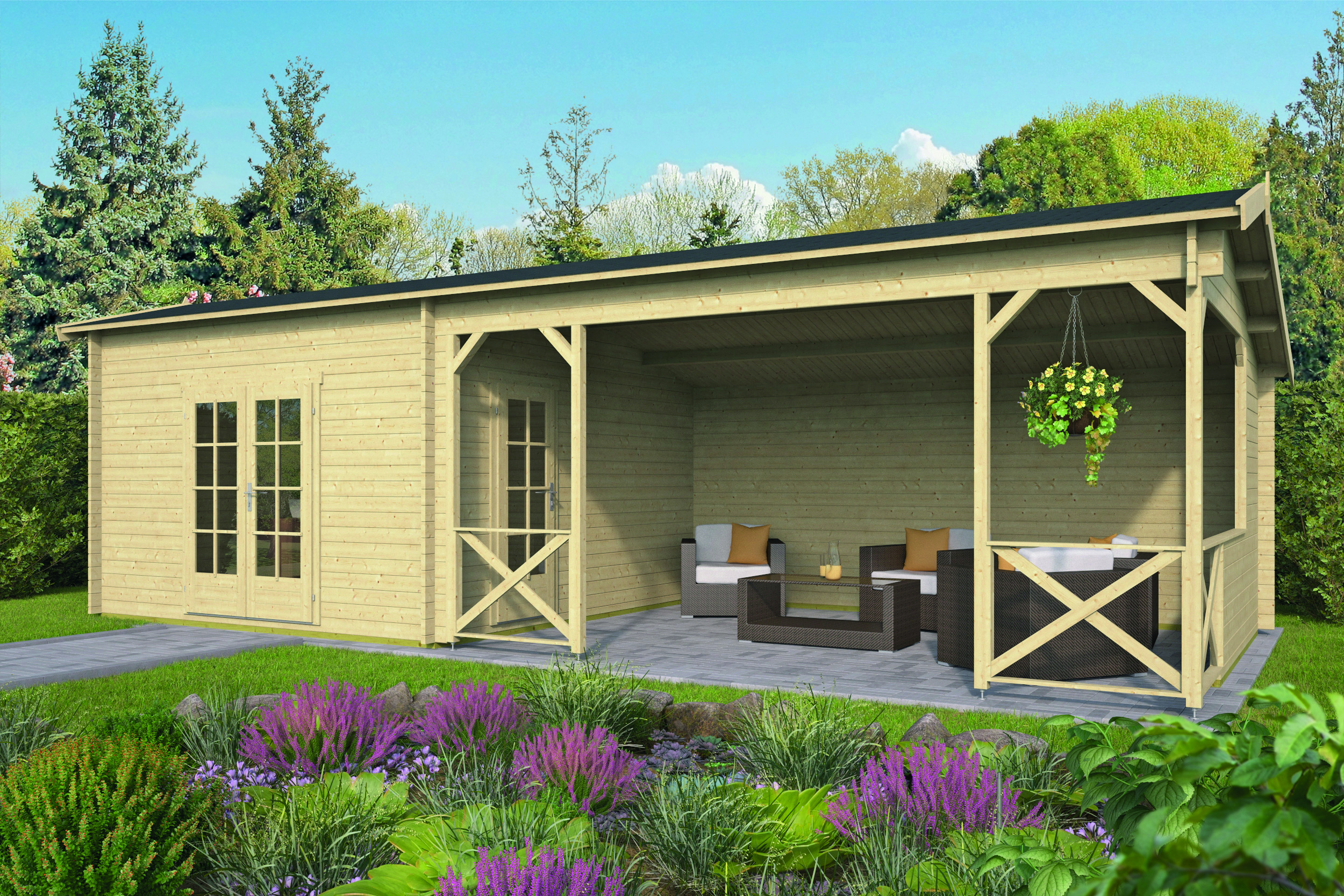Mokka – Log Cabin /Garden Shed