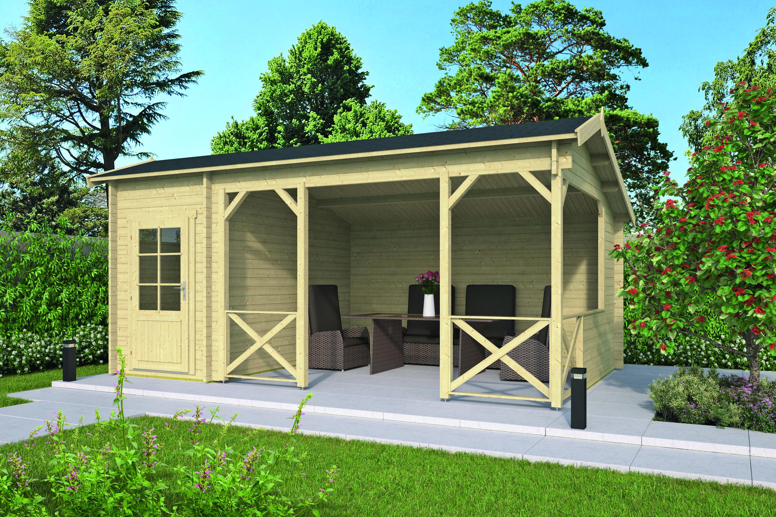 Selma – Log Cabin /Garden Shed