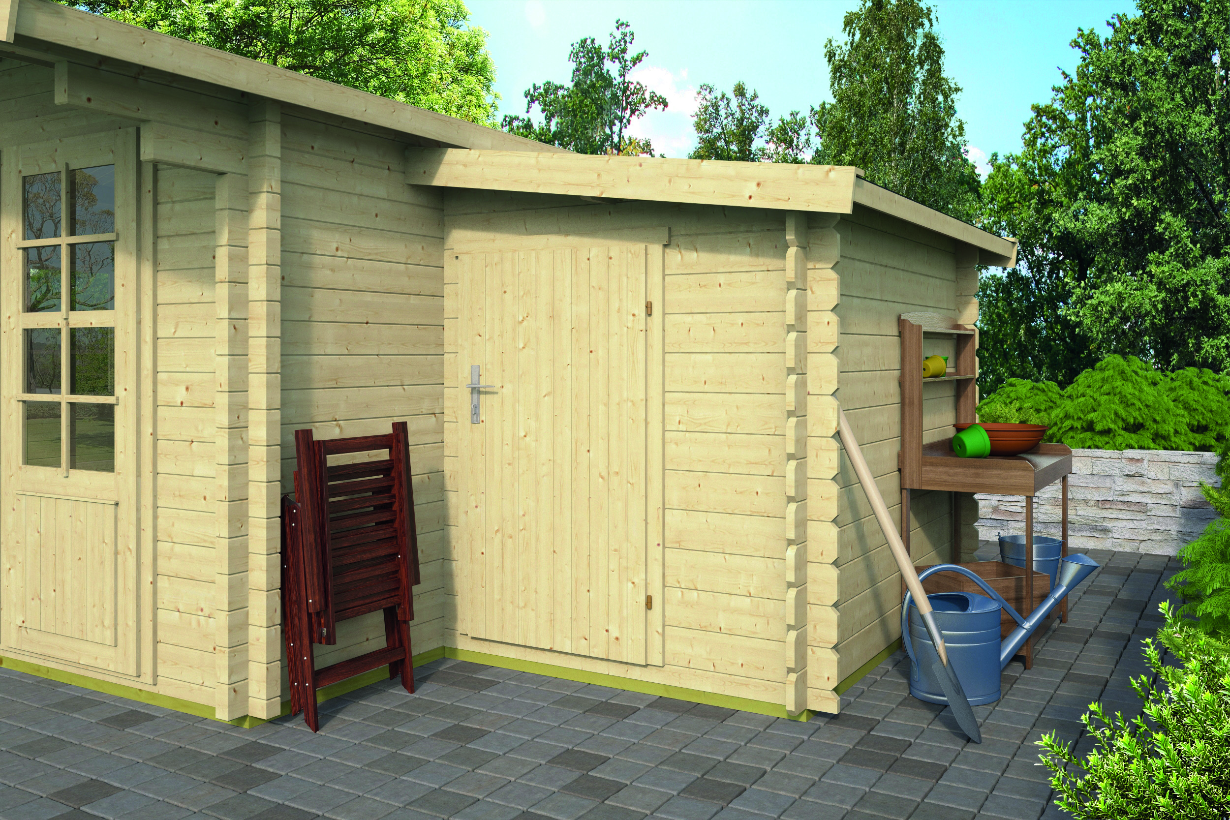 Log Cabin Extension 45 Mm