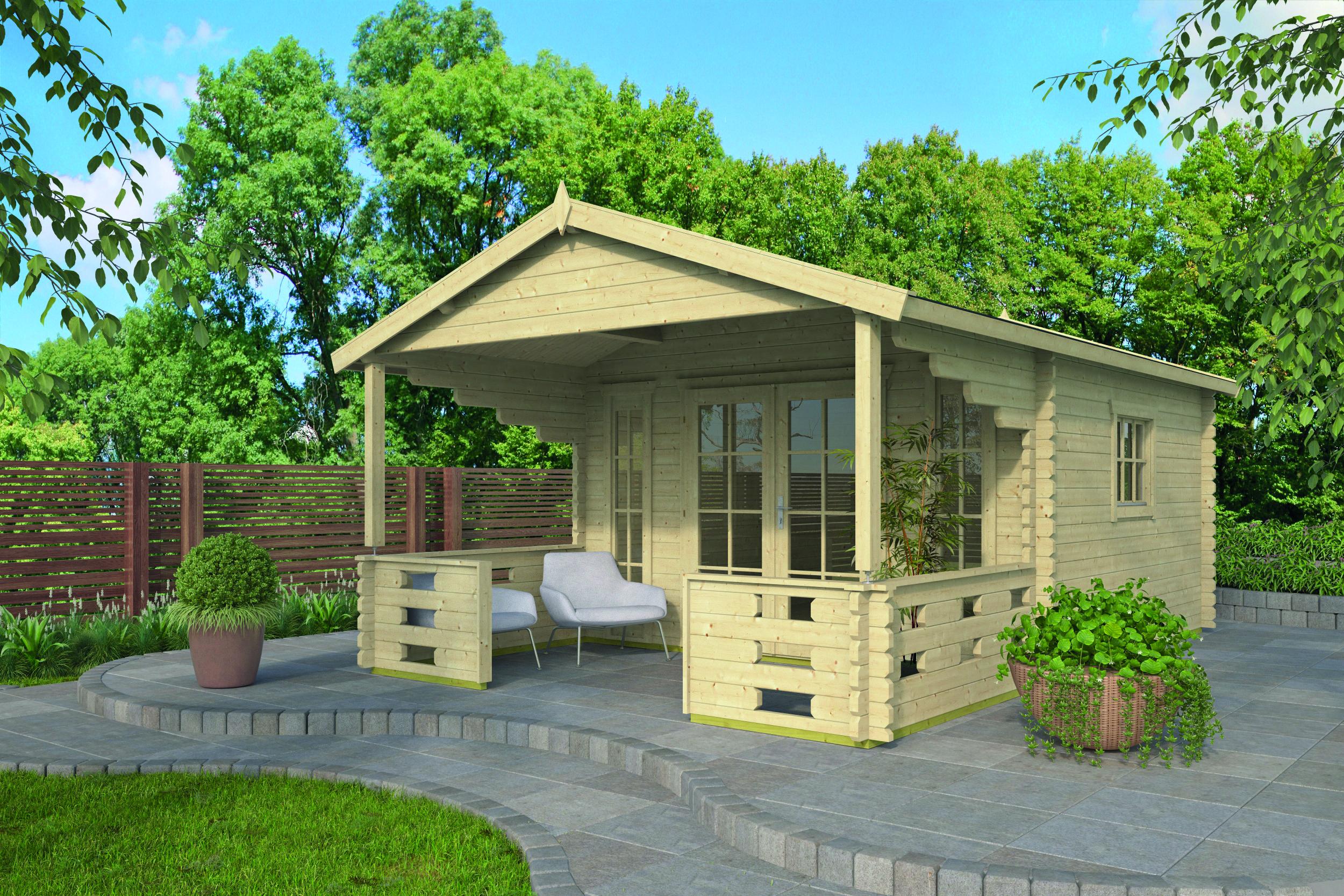 Hedvig – Log Cabin /Garden Shed