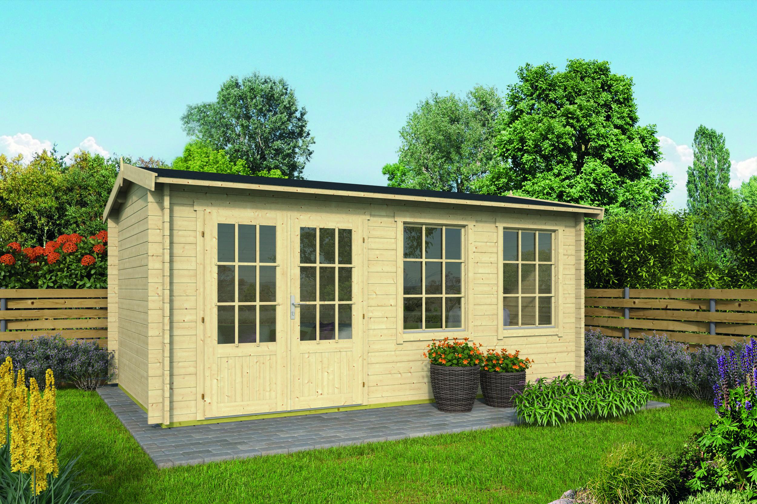 Aiste – Log Cabin /Garden Shed