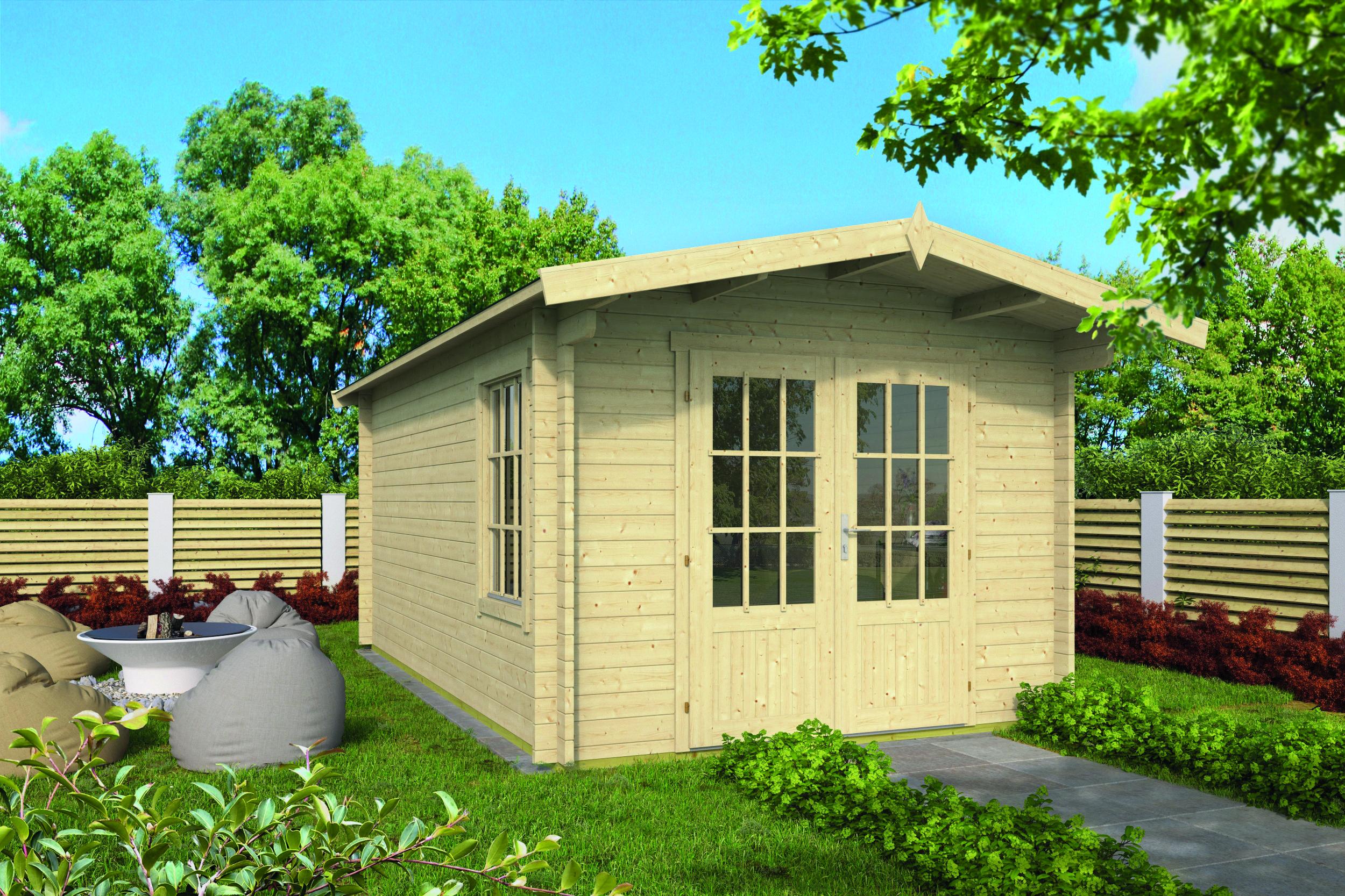 Julia – Log Cabin /Garden Shed