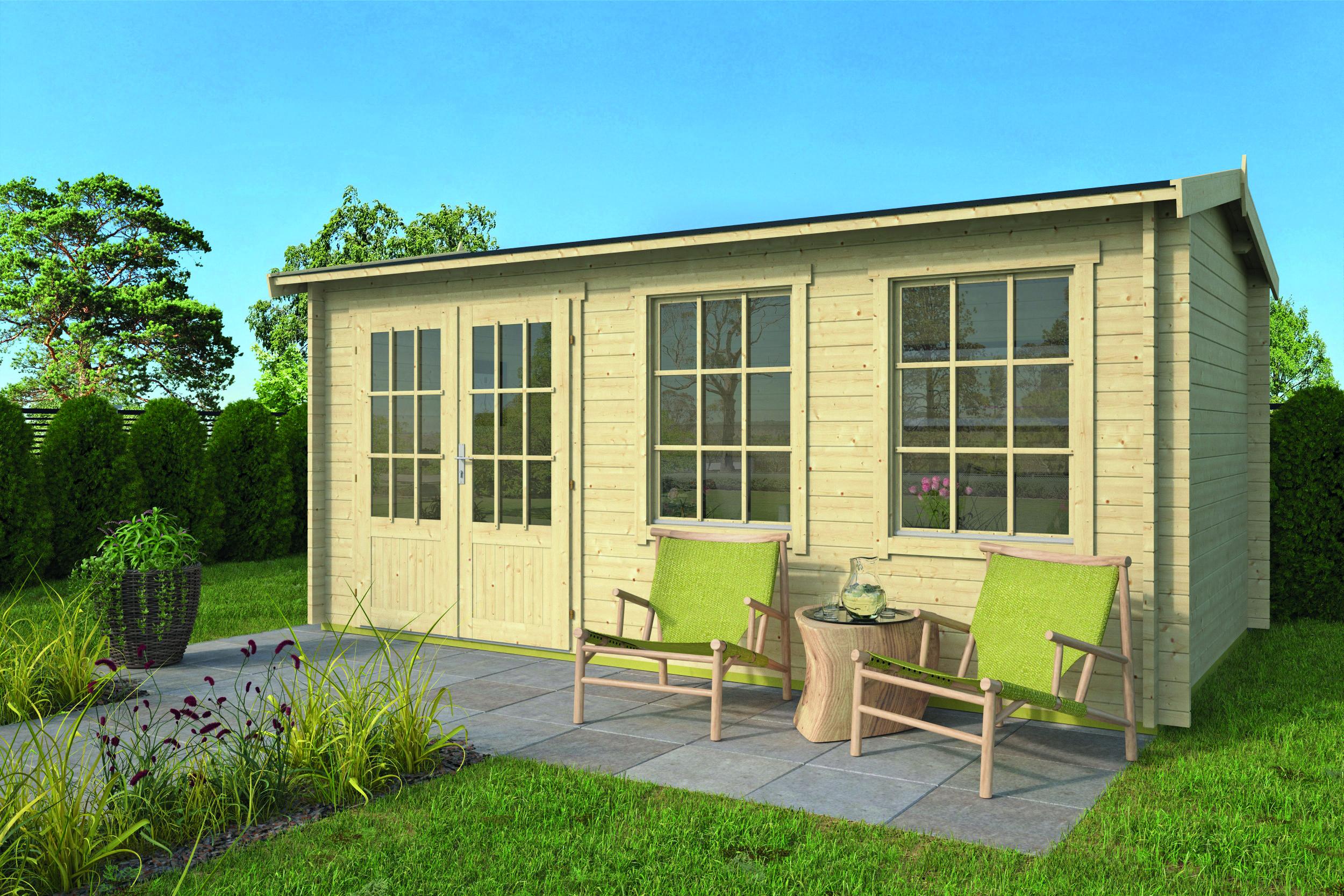 Justine – Log Cabin /Garden Shed