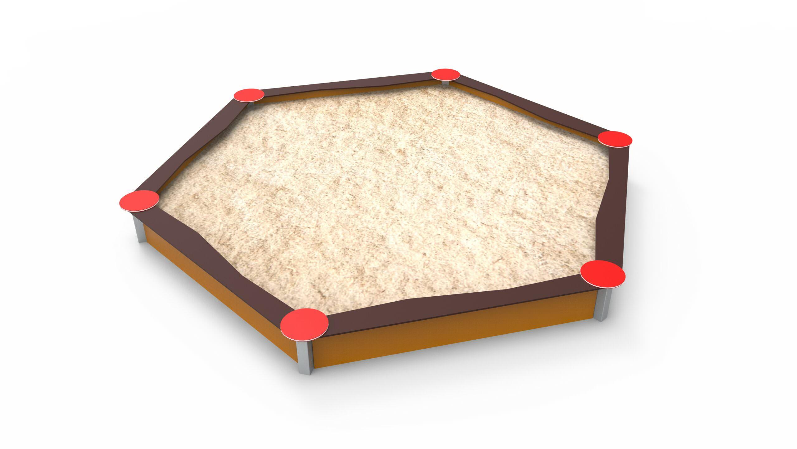 Hexagonal Big Sandbox 2,4 M