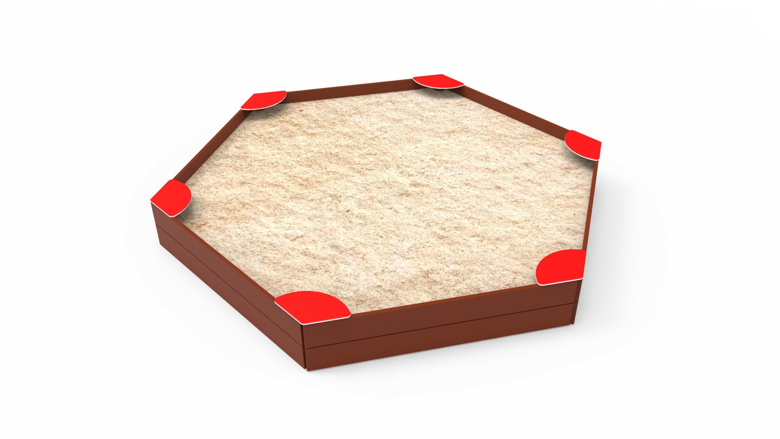 Hexagonal Sandbox 1,8 M