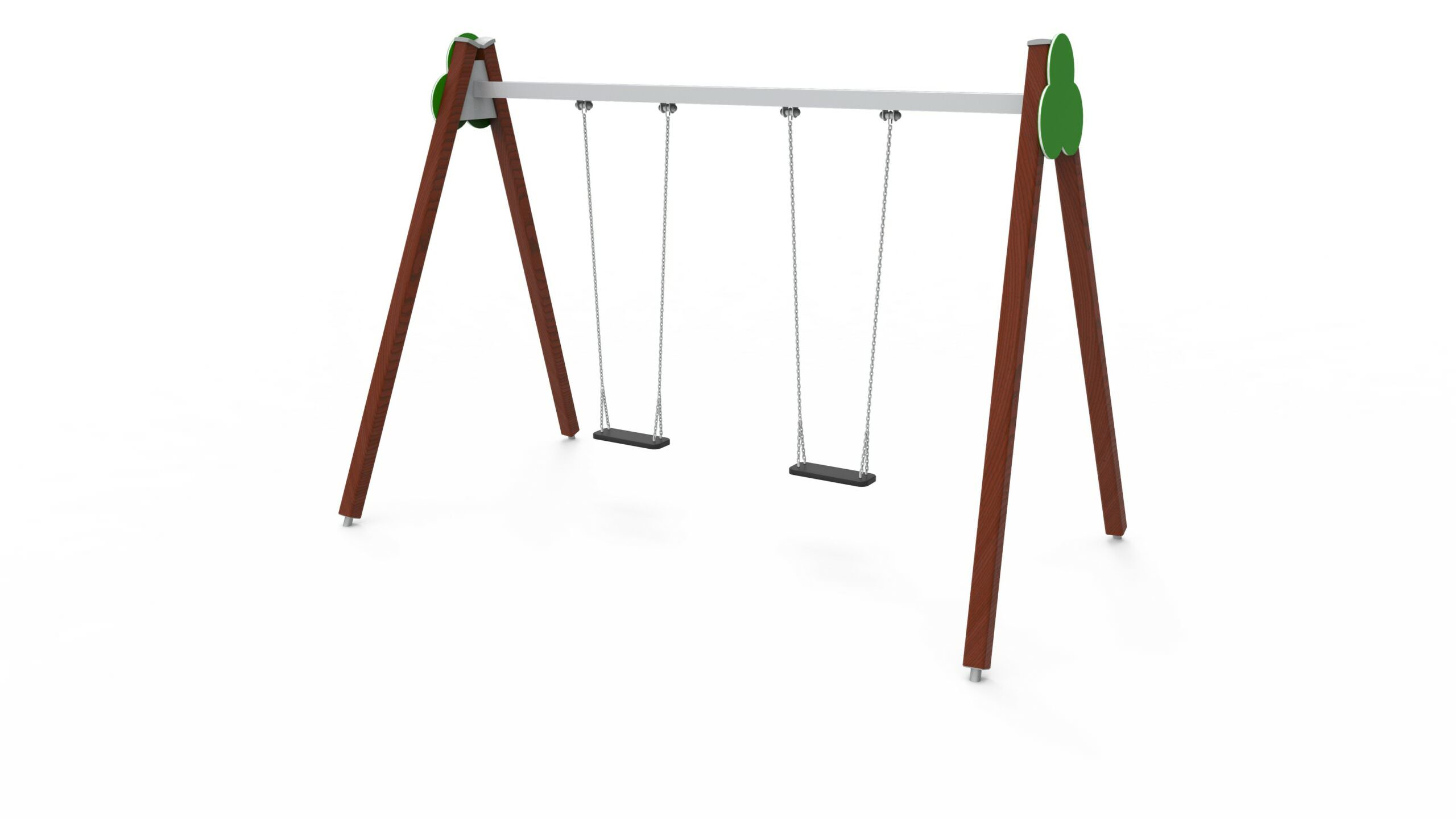 Double Pendulum Swing
