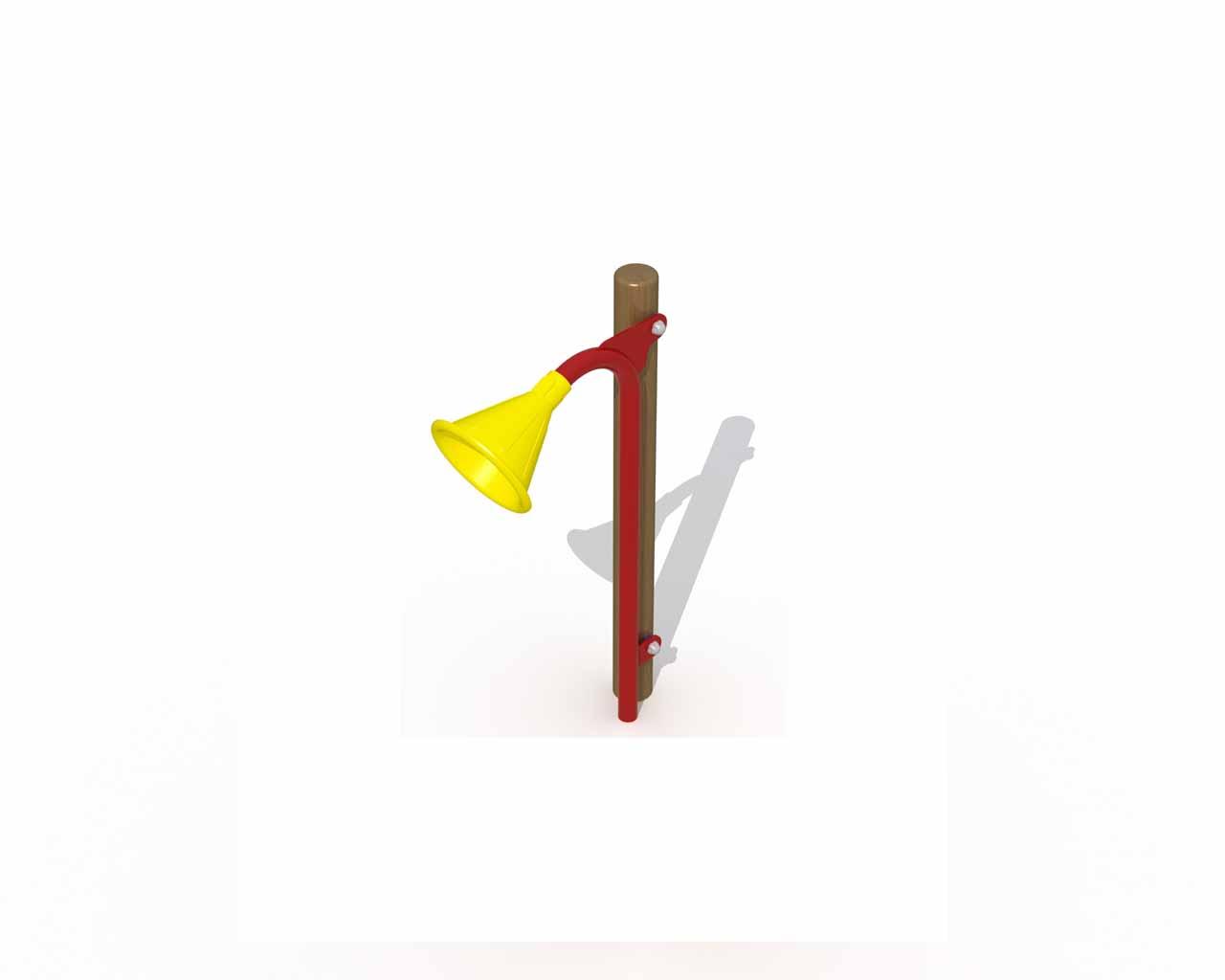 Megaphone For Wooden Posts (2 Pieces)