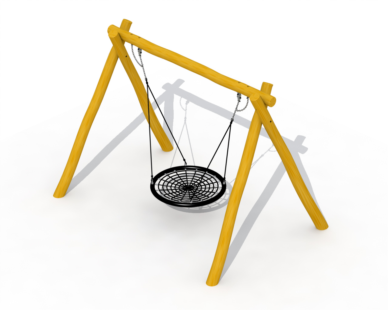 Basket Swing In Robinia (basket)