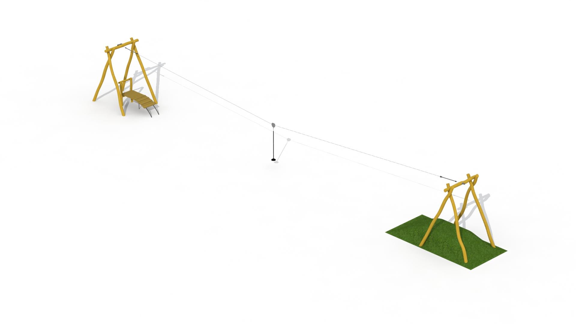 Aerial Runway In Robinia (1 Platform)
