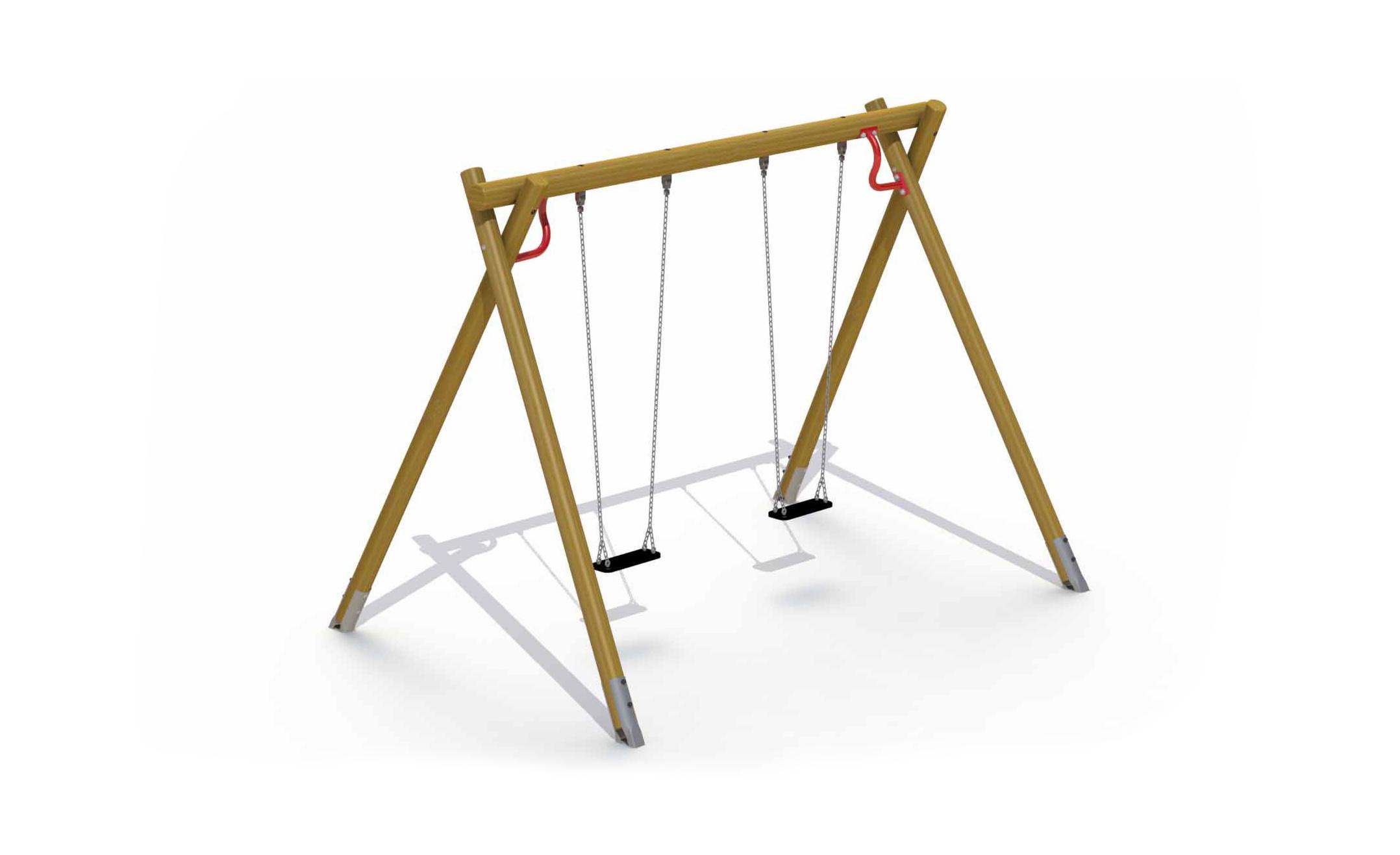 Heavy Swing (2 Flat Rubber Seats)