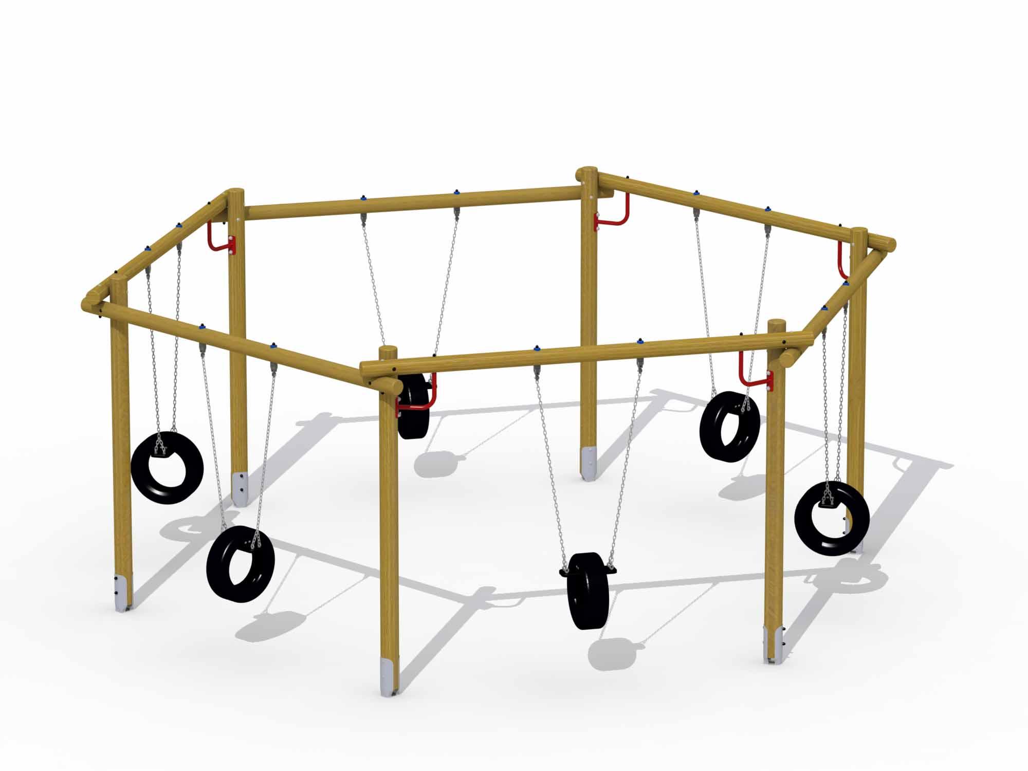 Hexagonal Swing (special Tire Seat)