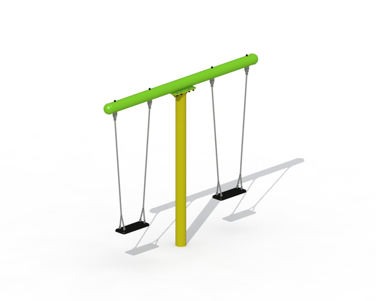Metal T-swing