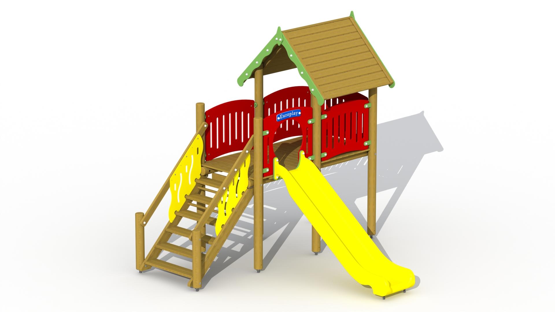 Elf Slide Tower (polymer Slide)