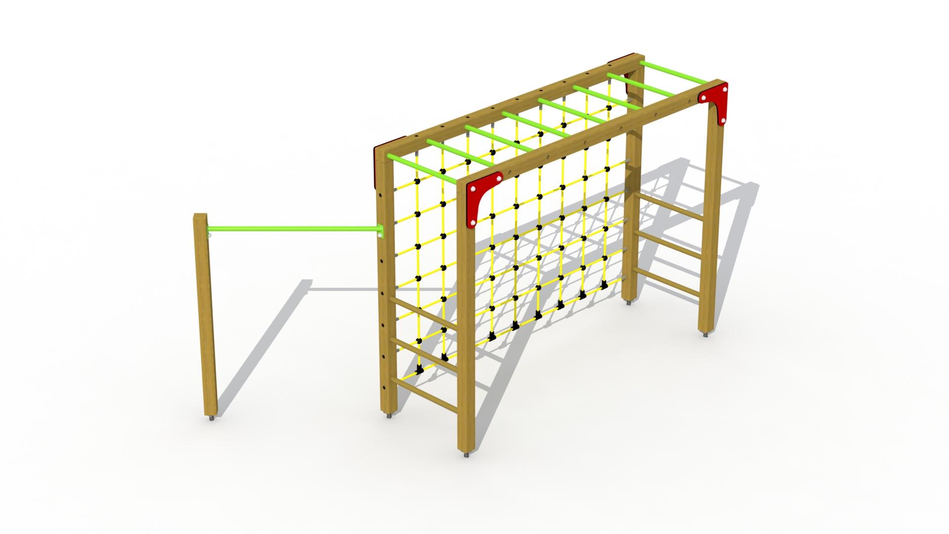 Multi-goal (with Gymnastic Bar)