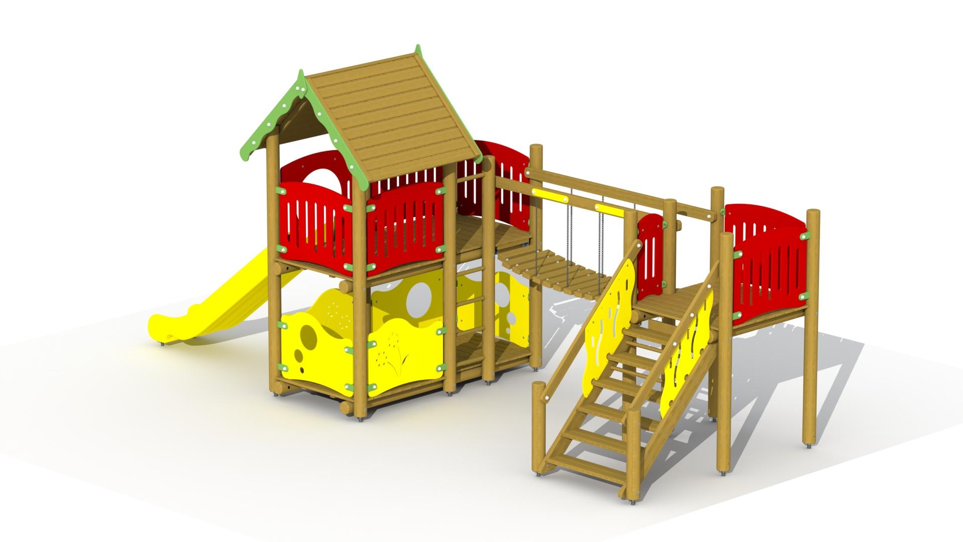 Fortress (polymer Slide, Footbridge)
