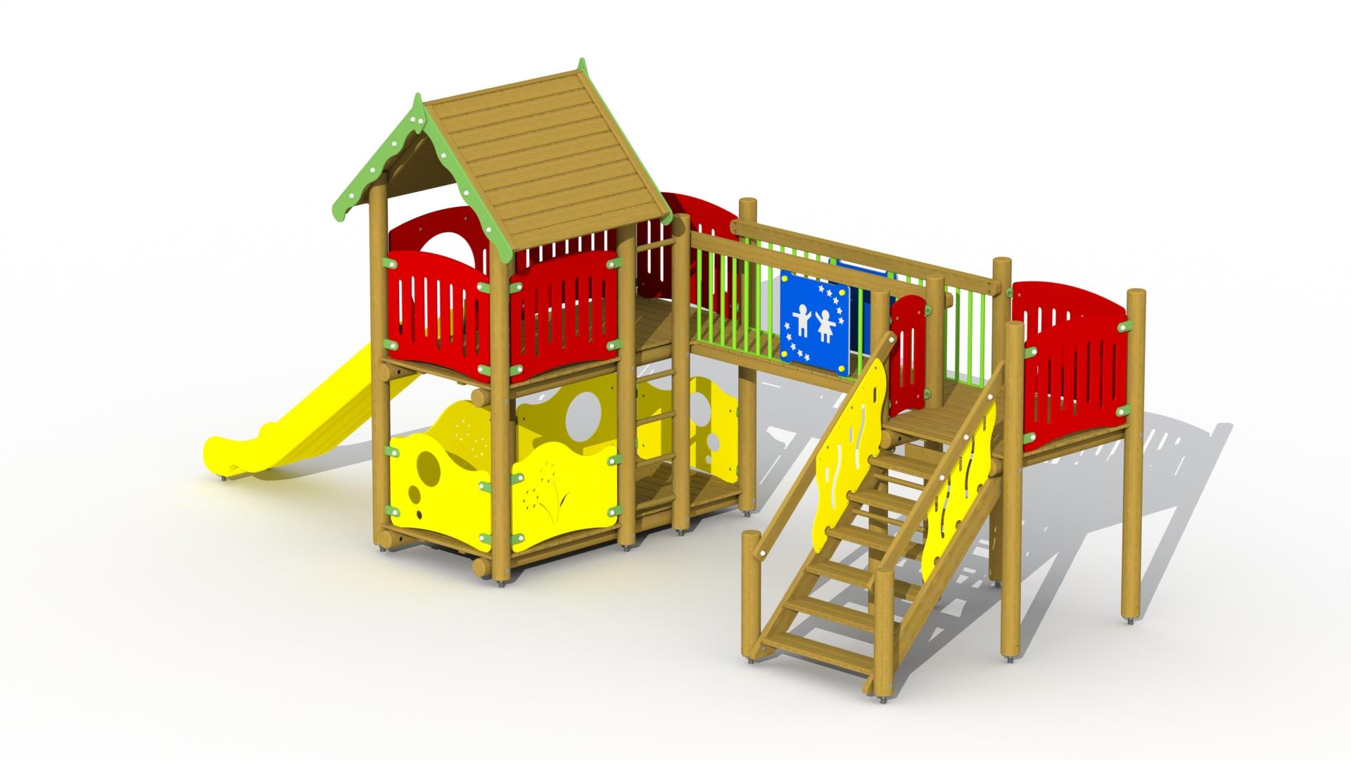 Fortress (polymer Slide, Fixed Bridge)