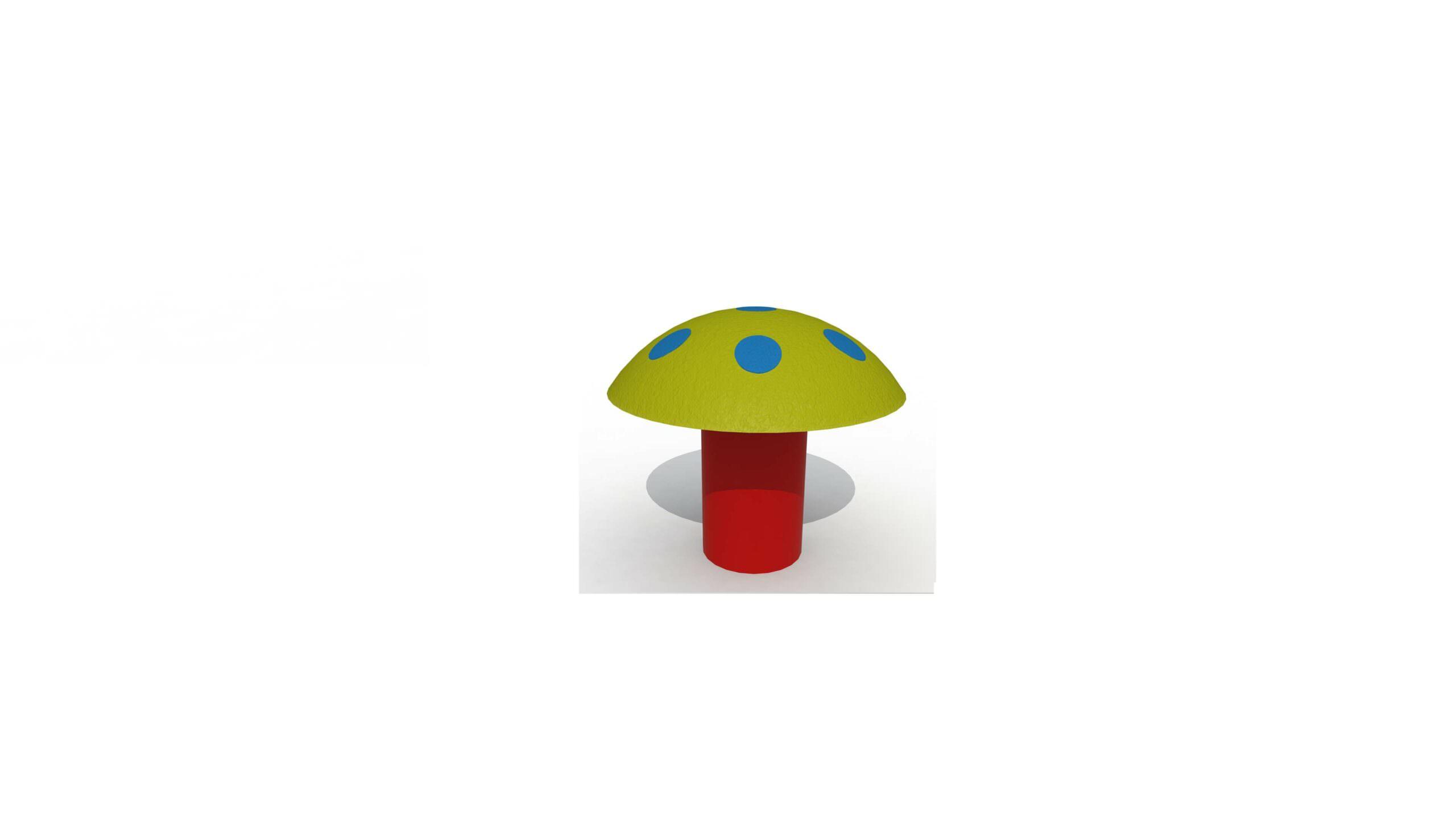 Giant Mushroom (low Model)