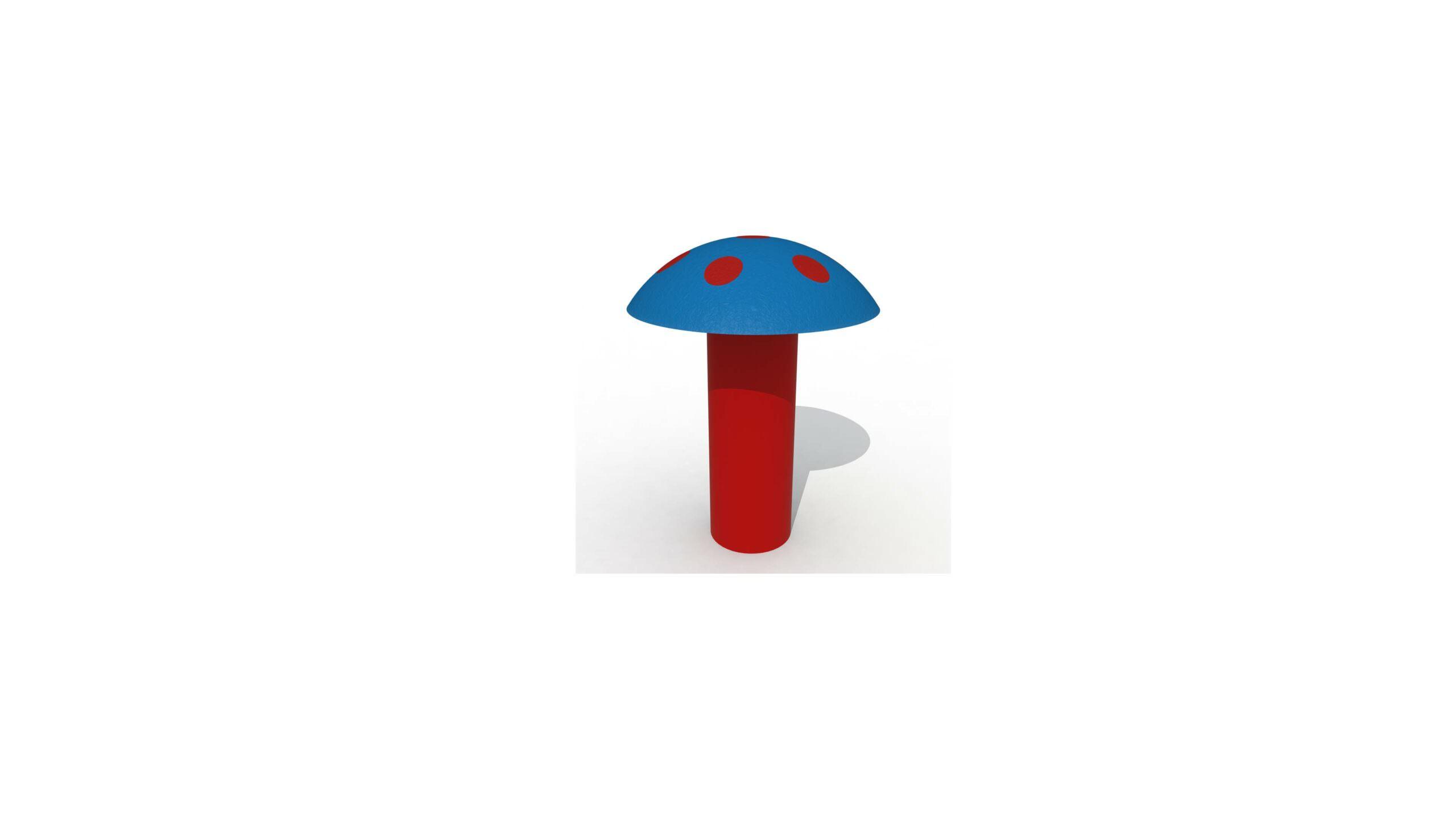 Giant Mushroom (high Model)